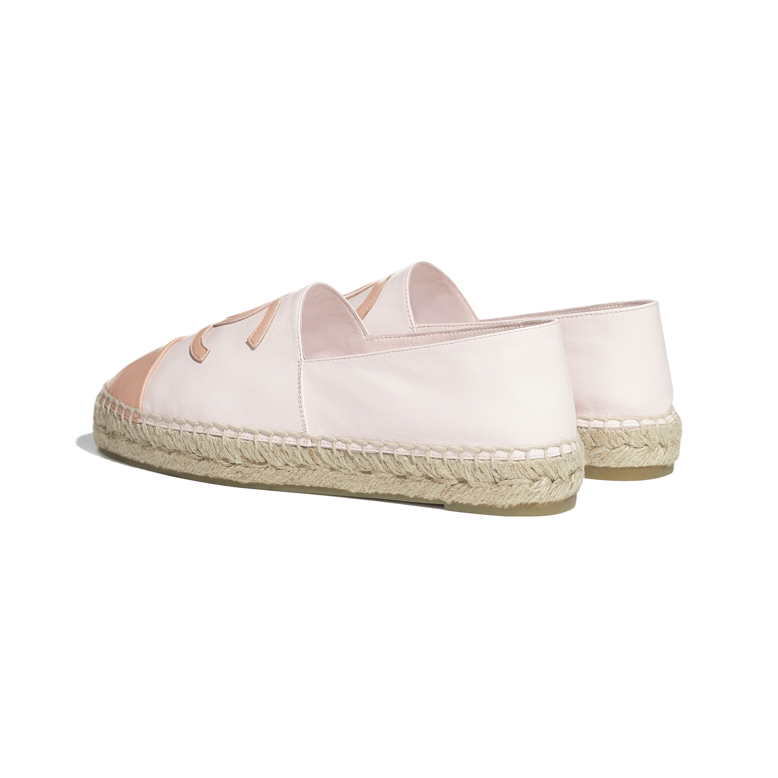 Espadrilles - Light Pink - Lambskin - CHANEL - Other view - see standard sized version