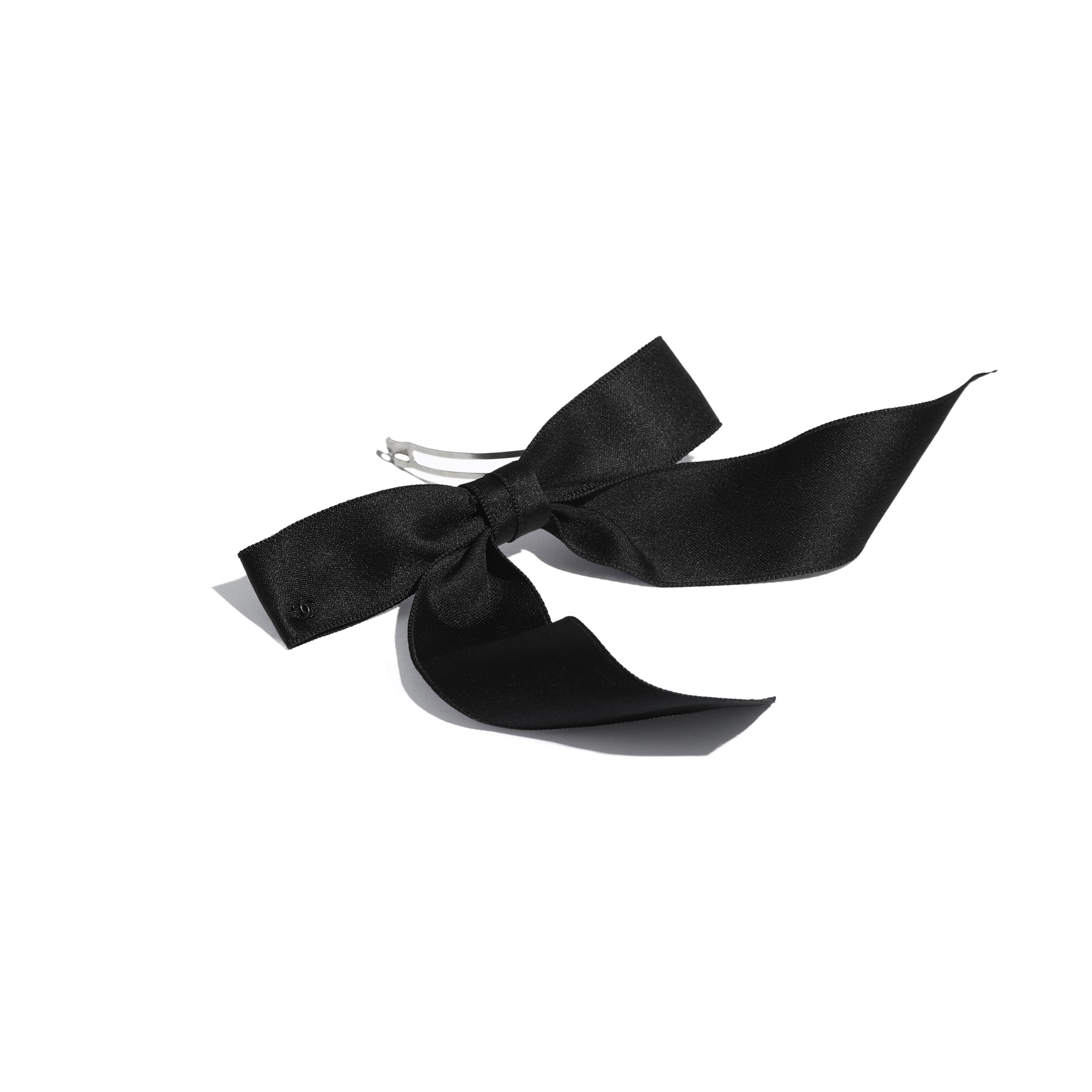 Hair Accessory - Black - Silk - Alternative view - see standard sized version