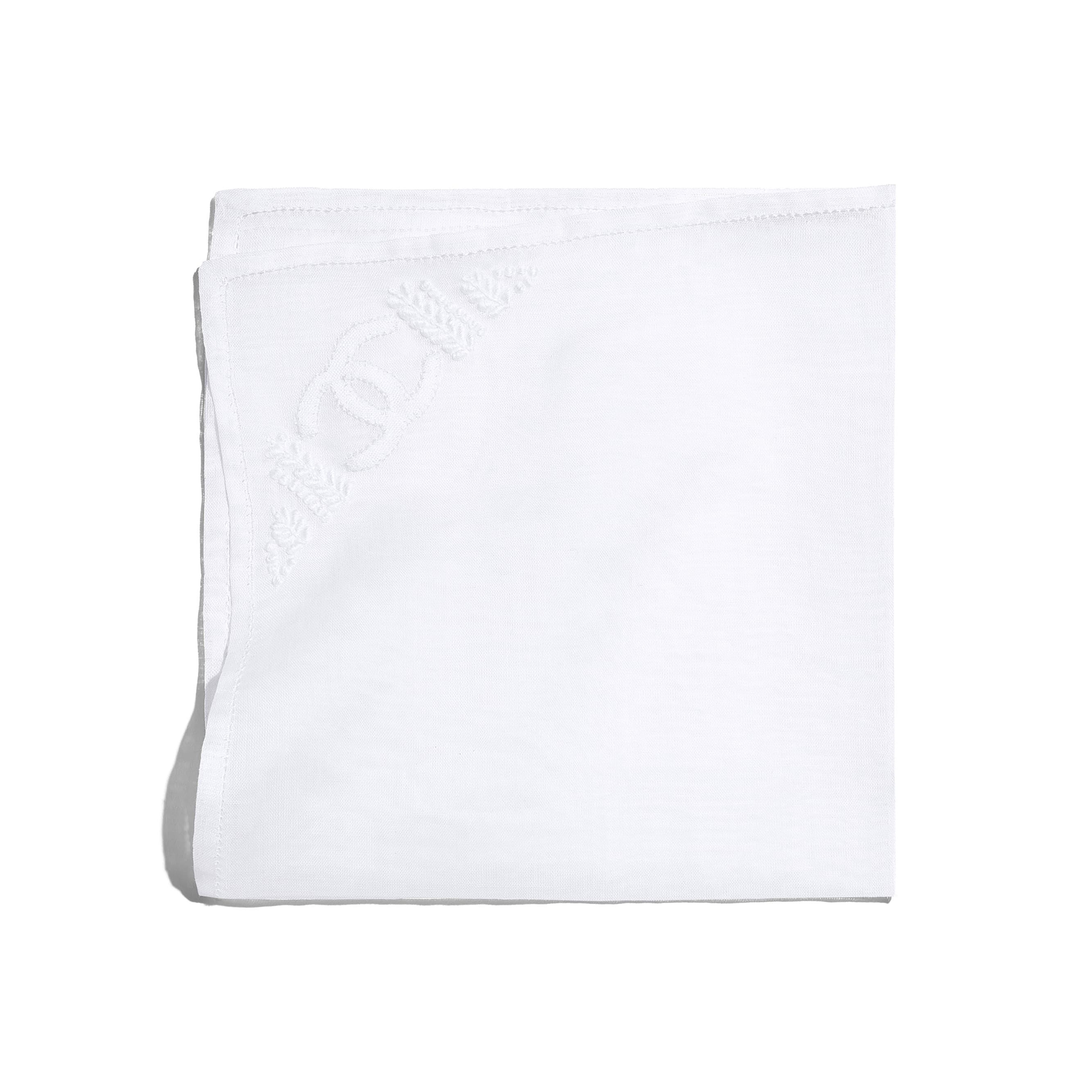Handkerchief - White - Cotton - Default view - see standard sized version