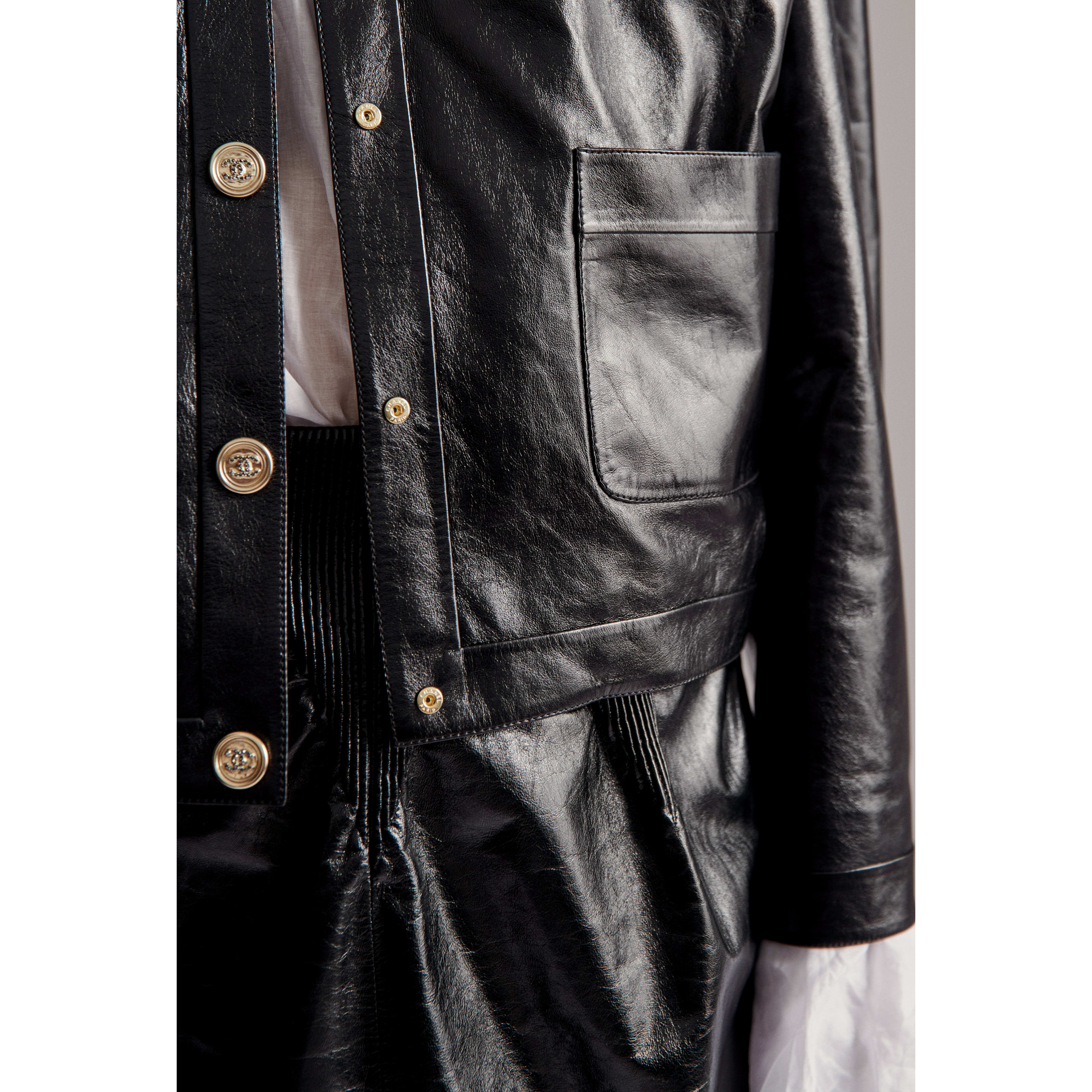 Jacket - Black - Lambskin - CHANEL - Other view - see standard sized version
