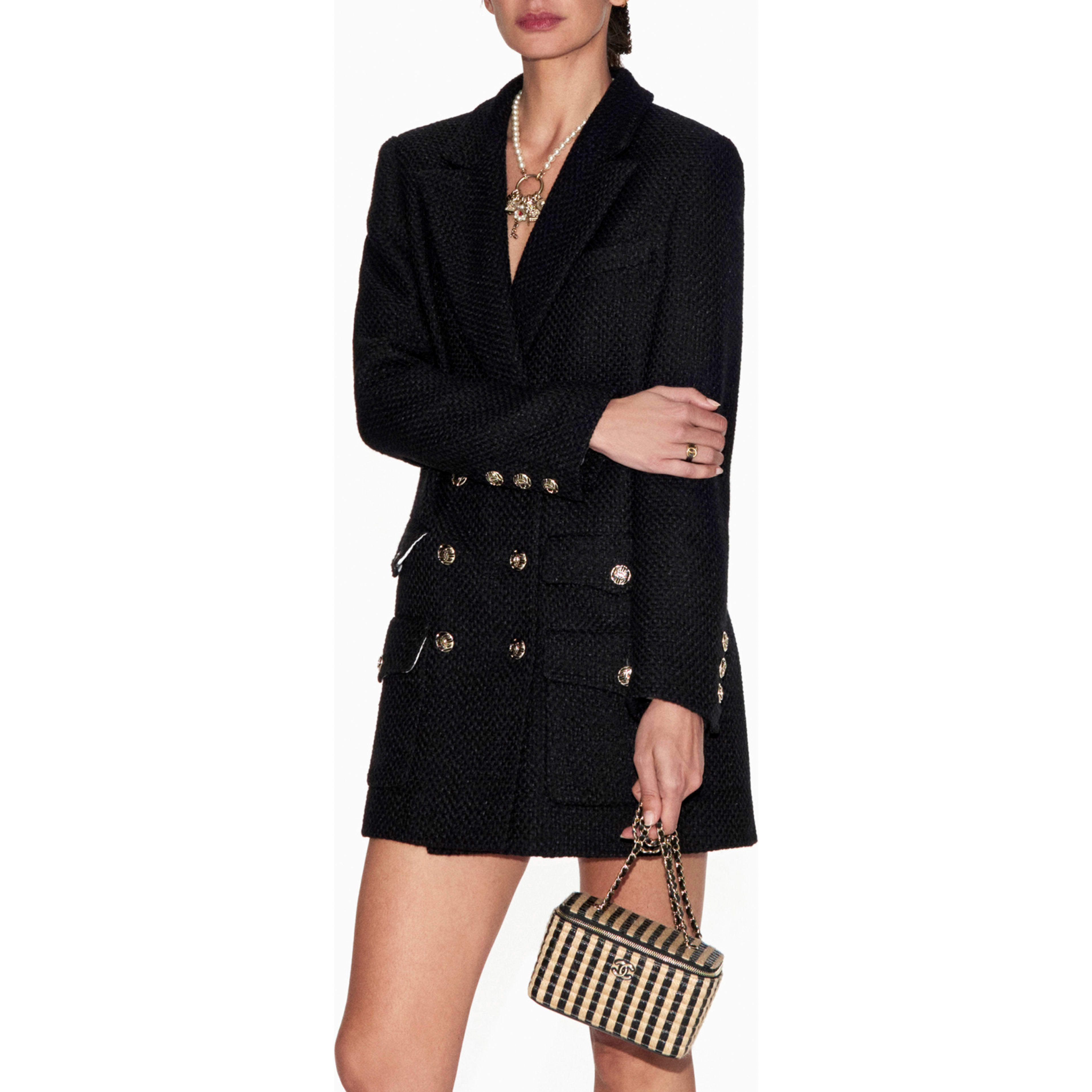 Jacket - Black - Tweed - CHANEL - Default view - see standard sized version