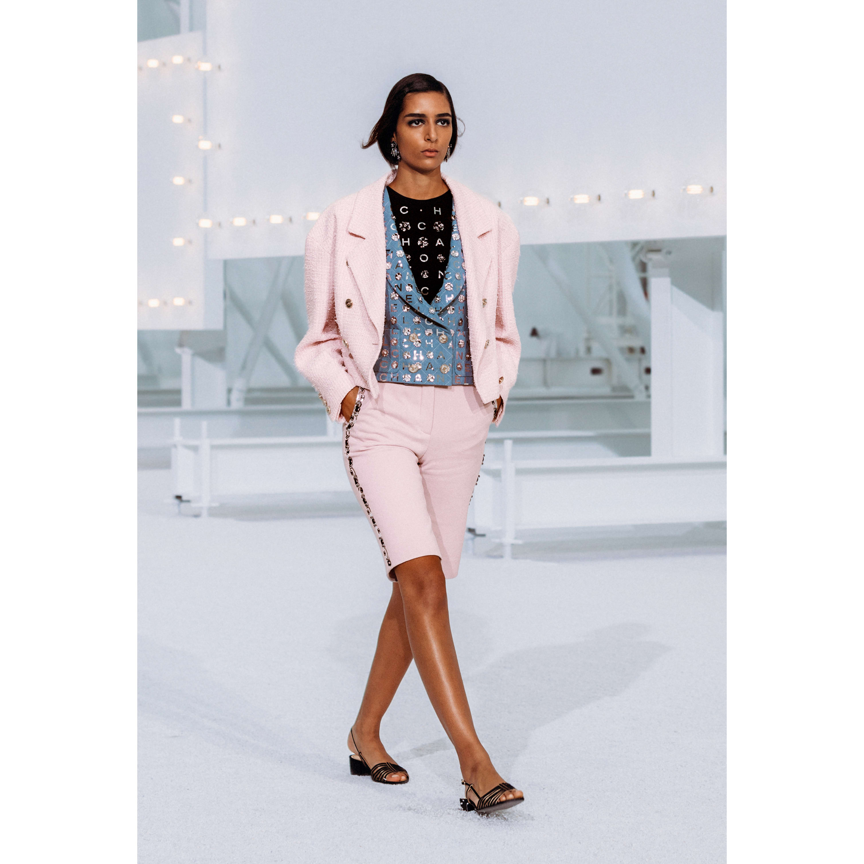 Jacket - Light Pink - Tweed - CHANEL - Default view - see standard sized version