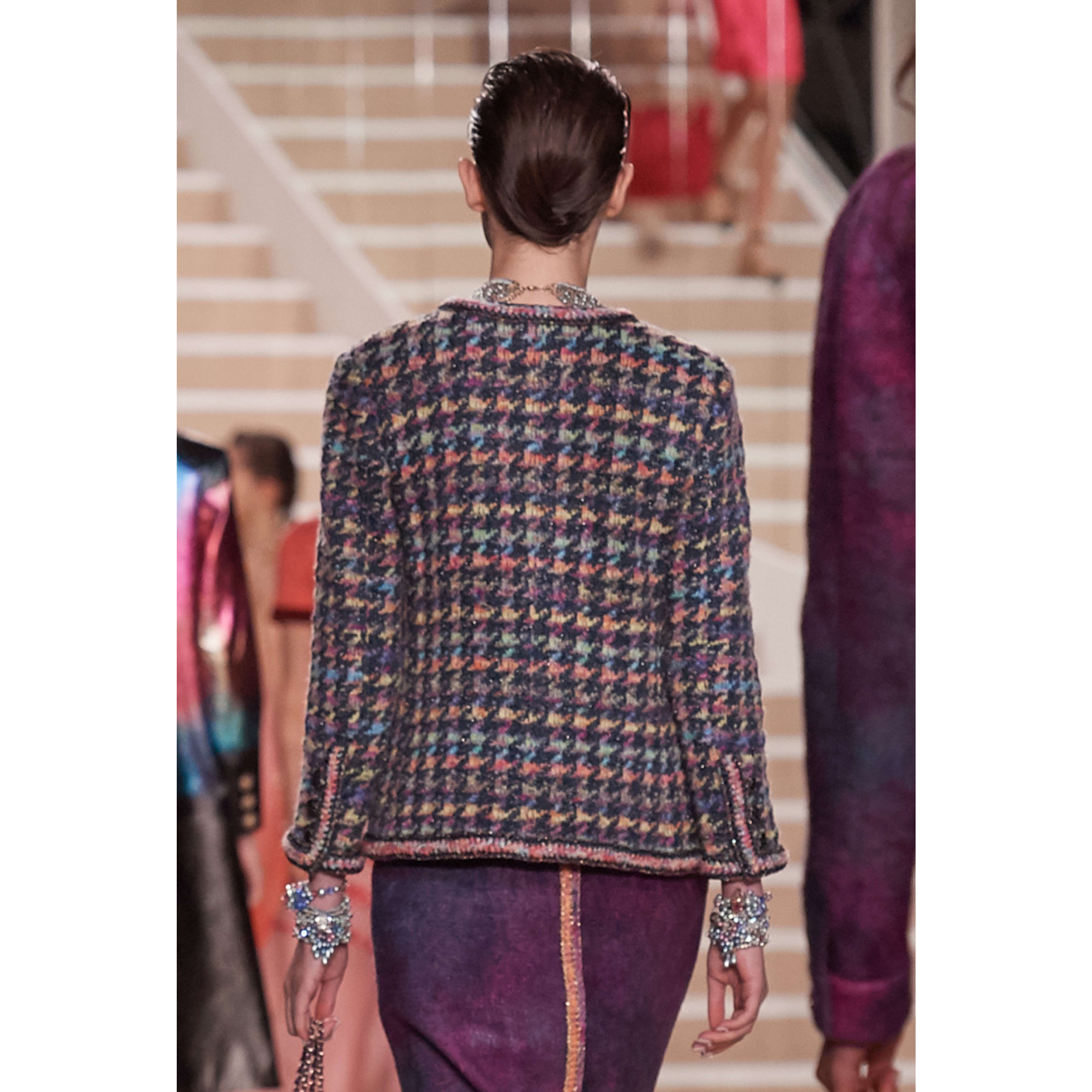 Jacket - Multicolour - Silk, Wool & Mixed Fibers - CHANEL - Alternative view - see standard sized version