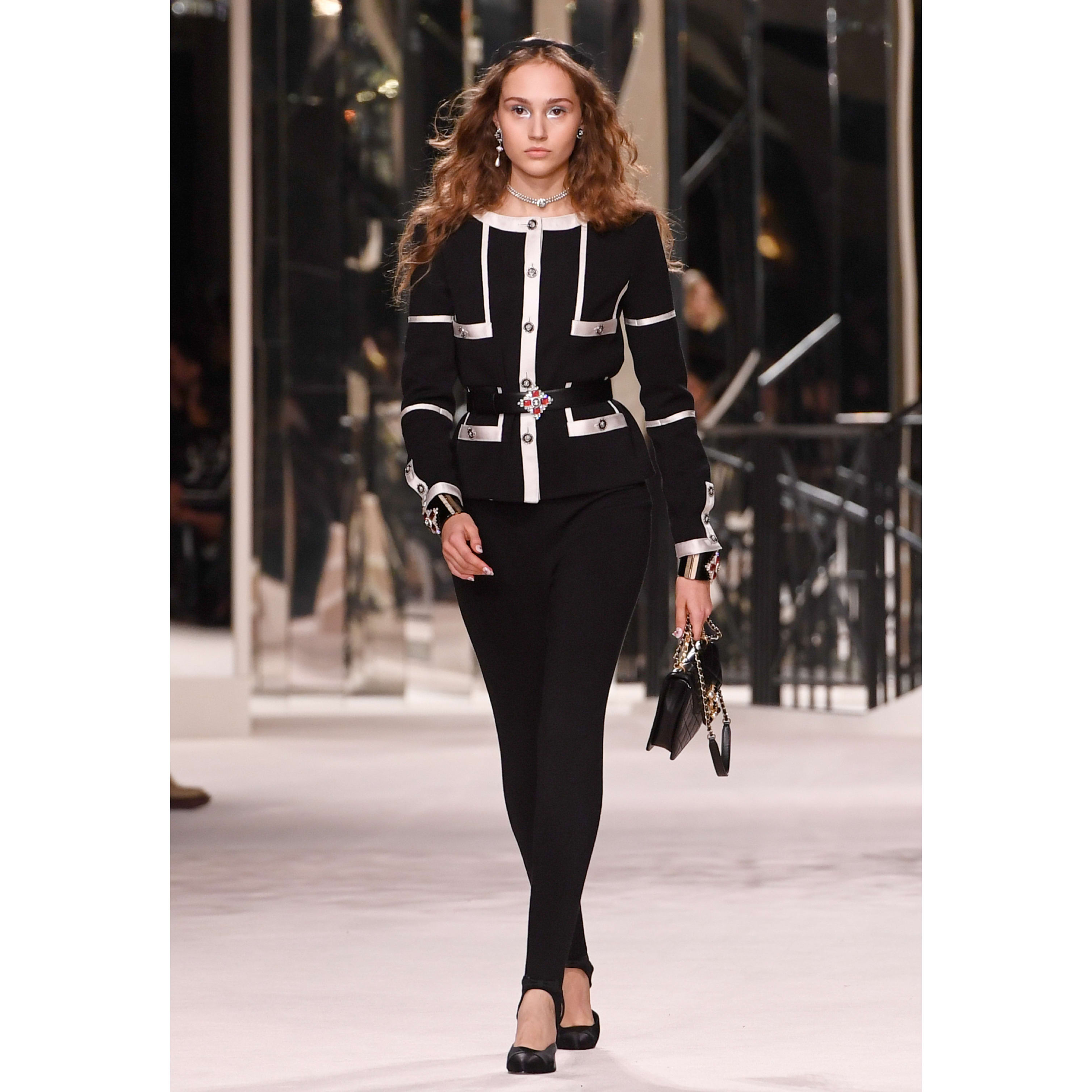 Jumpsuit - Black - Wool - CHANEL - Default view - see standard sized version