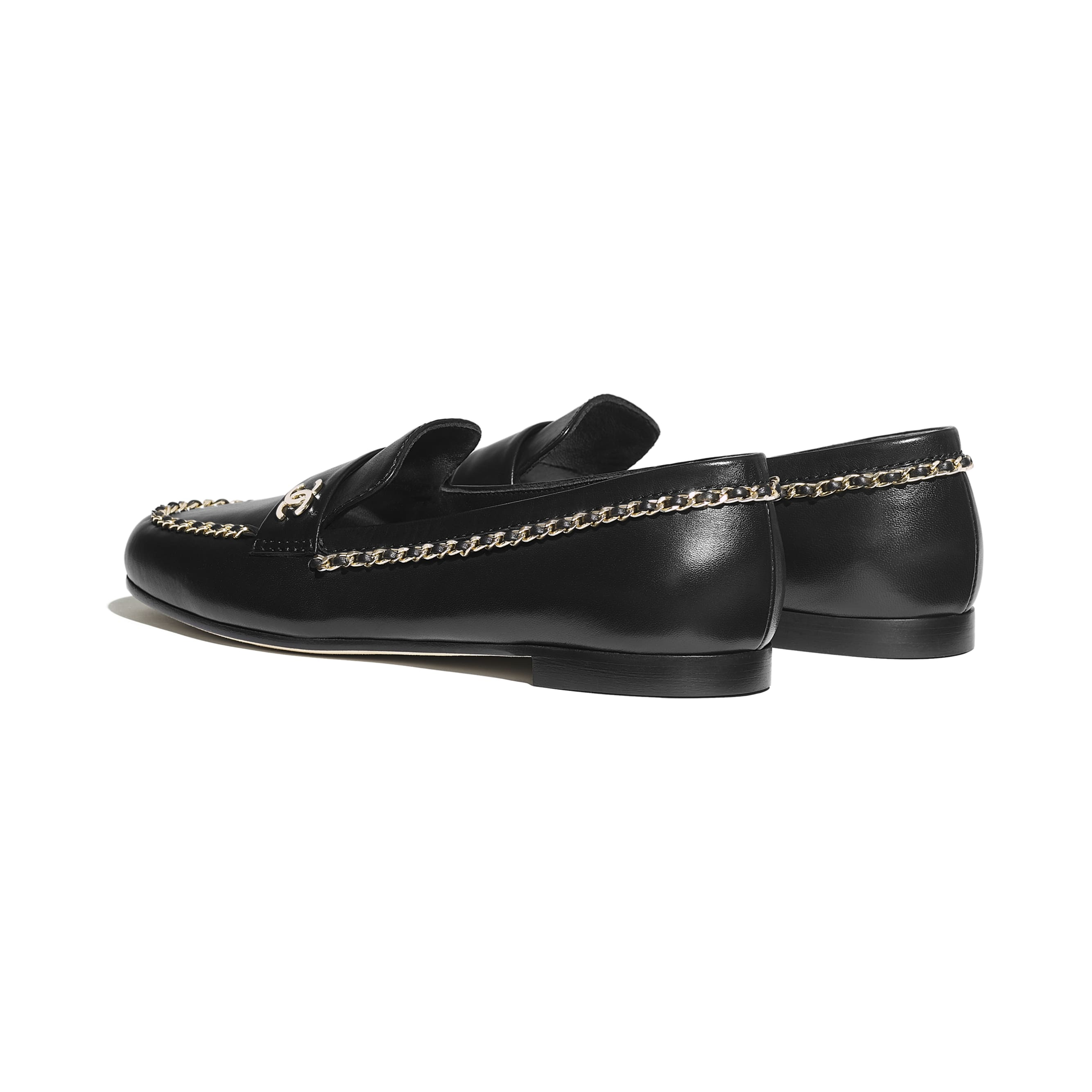 Loafers - Black - Lambskin - Other view - see standard sized version