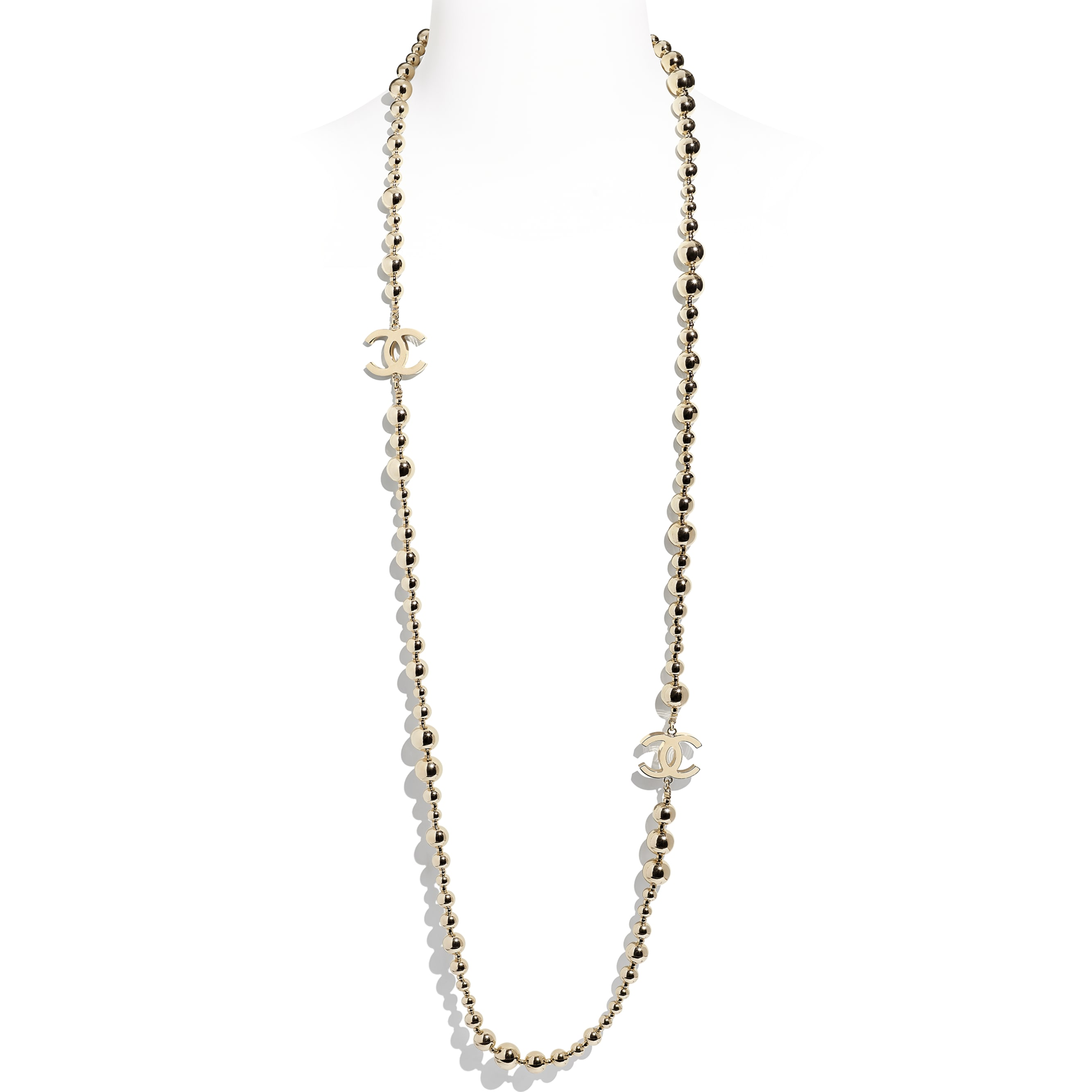 Long Necklace - Gold - Metal - CHANEL - Default view - see standard sized version
