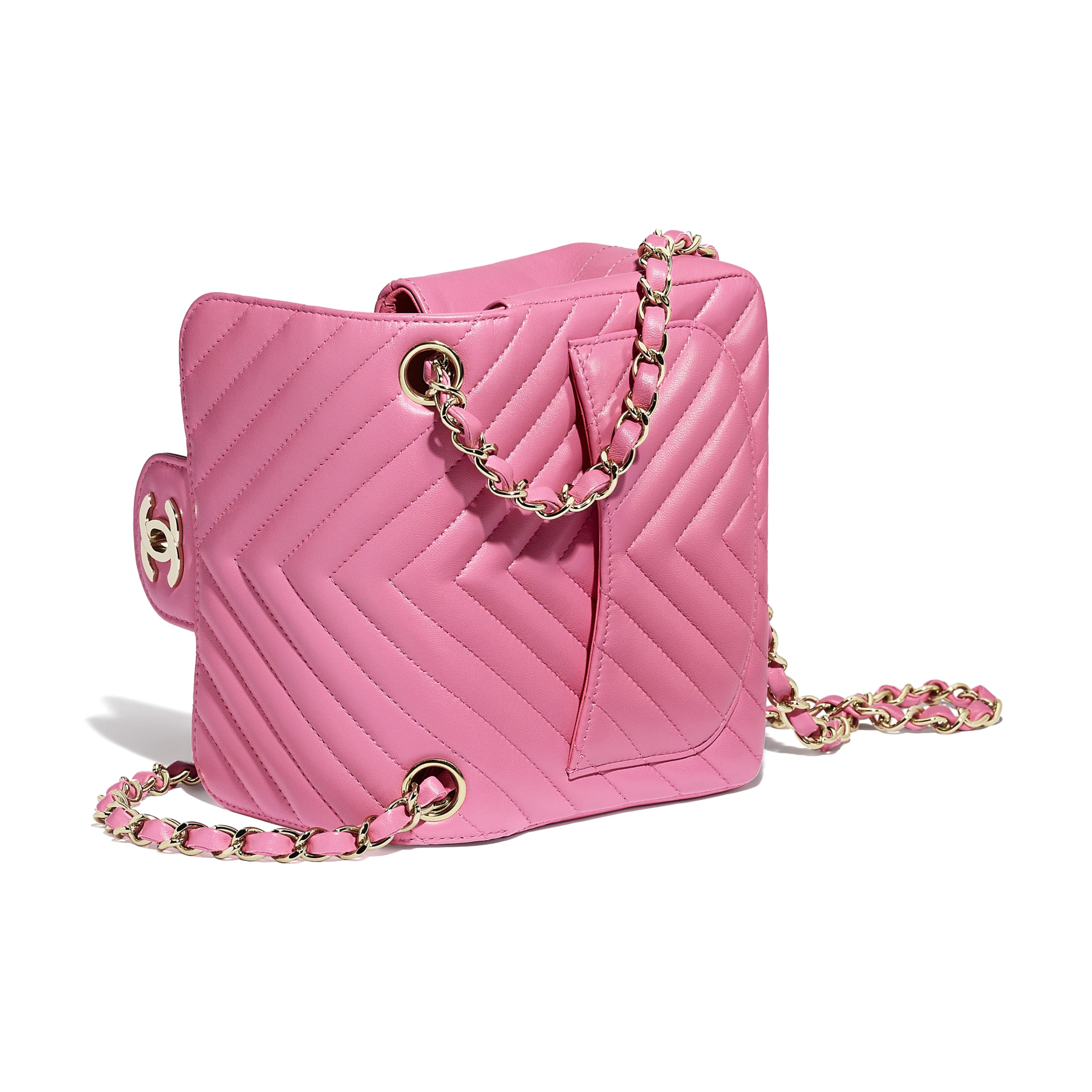 8dbd8e4335367 Mini flap bag pink lambskin gold tone metal lambskin gold tone metal  packshot other a jpg