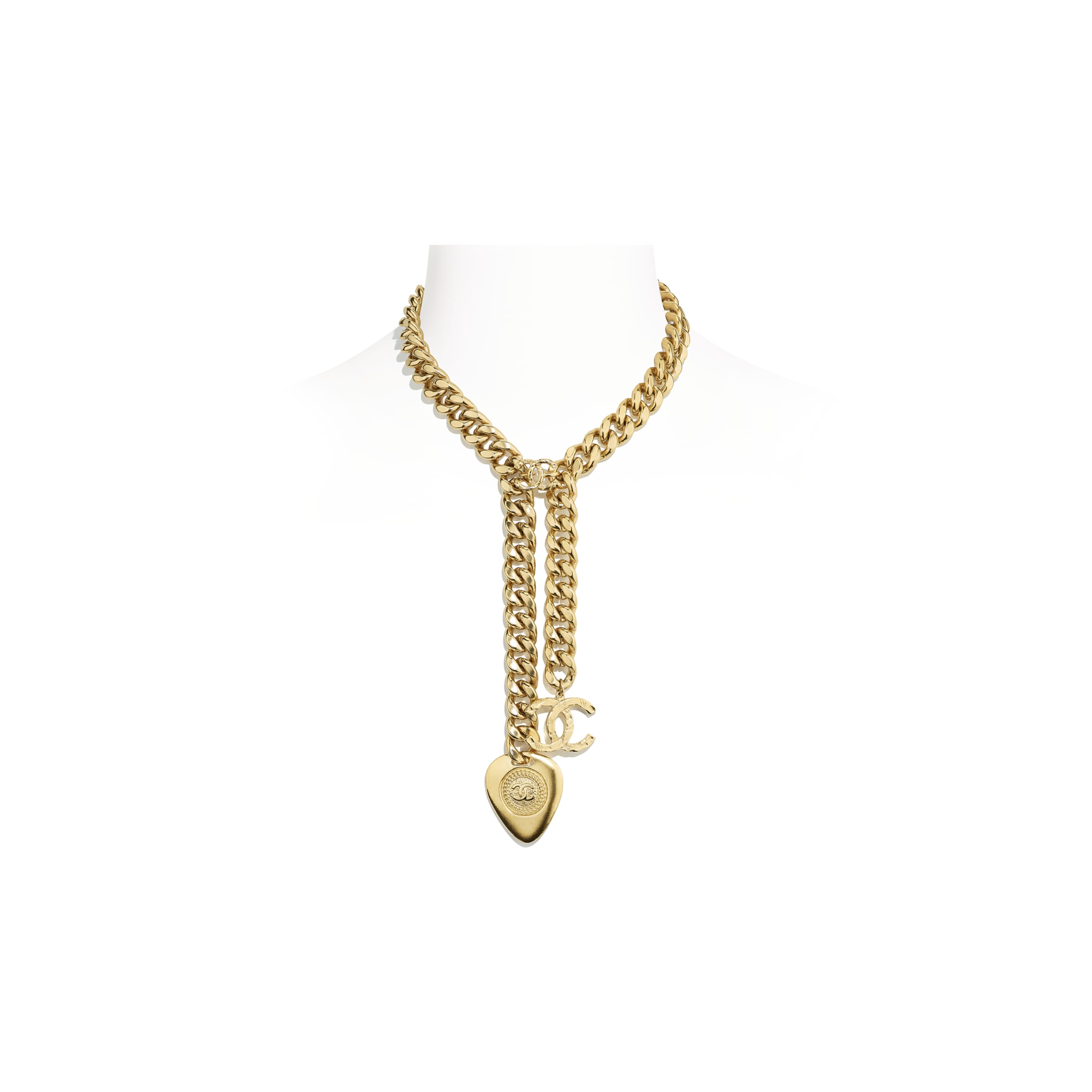 Necklace - Gold - Metal - Default view - see standard sized version