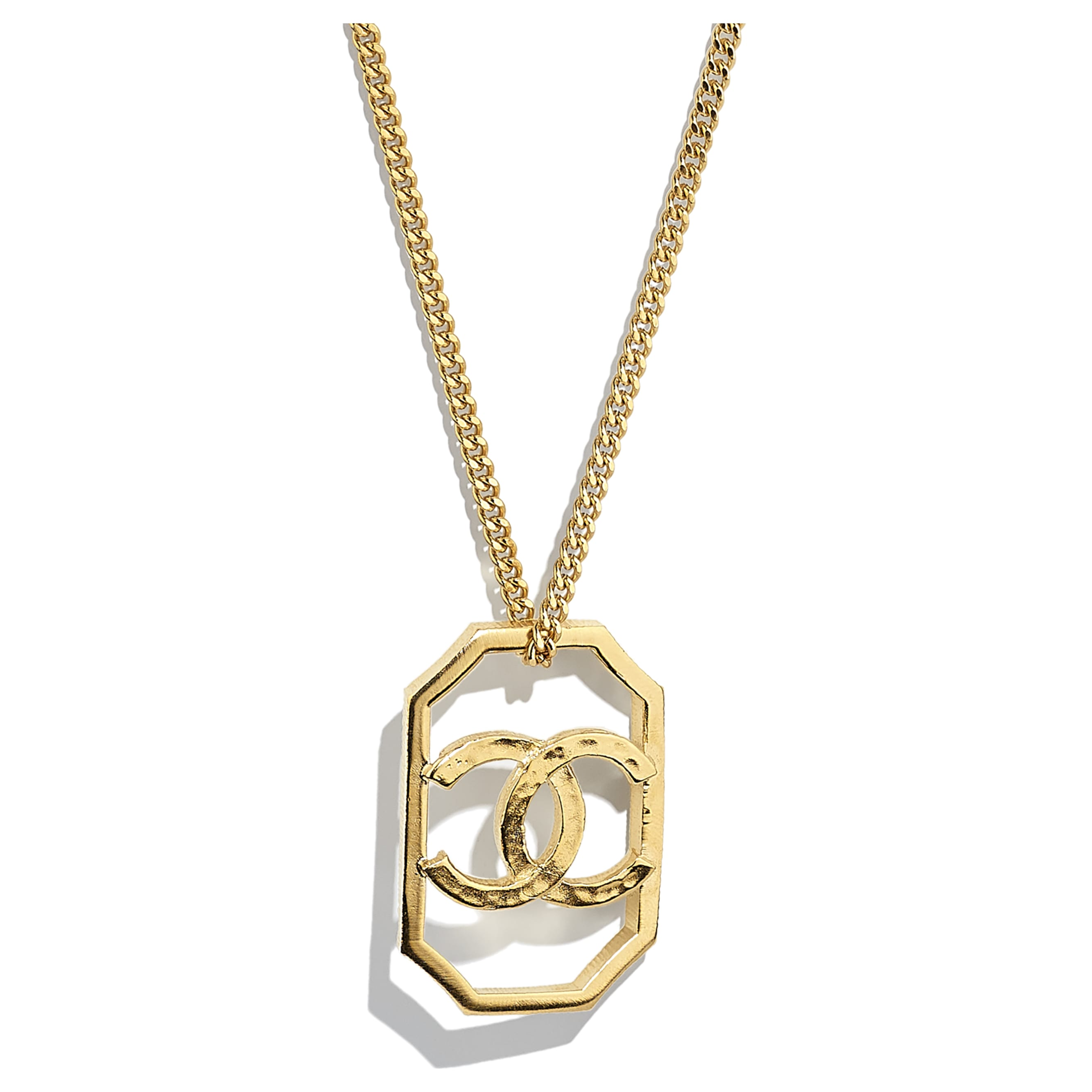 Necklace - Gold - Metal - CHANEL - Other view - see standard sized version