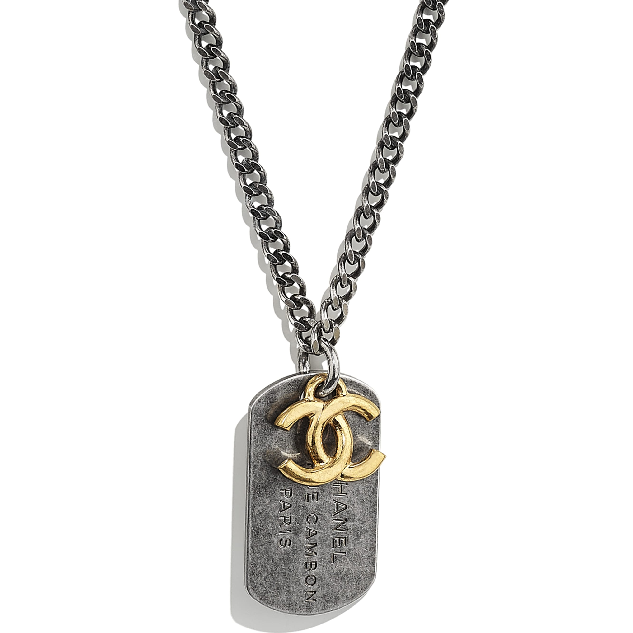Necklace - Gold & Ruthenium - Metal - CHANEL - Other view - see standard sized version