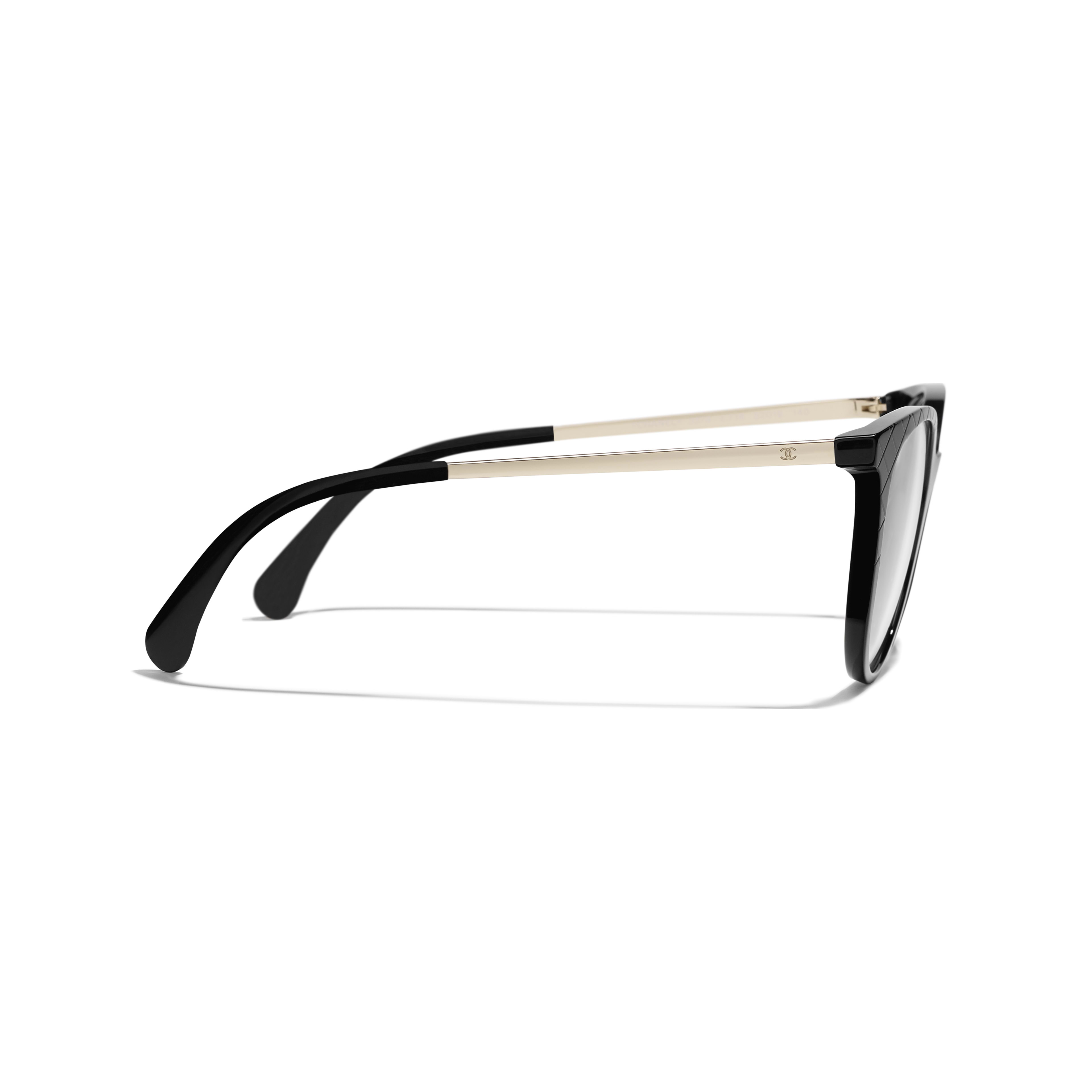 Pantos Eyeglasses - Black - Acetate & Metal - Other view - see standard sized version