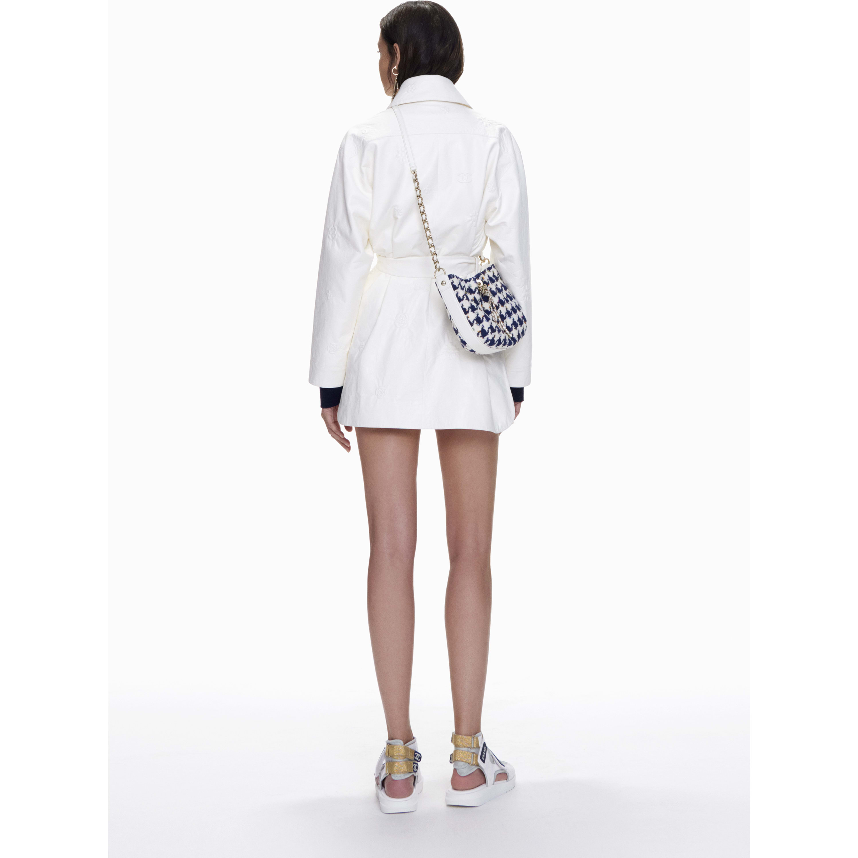 Parka - White - Lambskin - CHANEL - Other view - see standard sized version