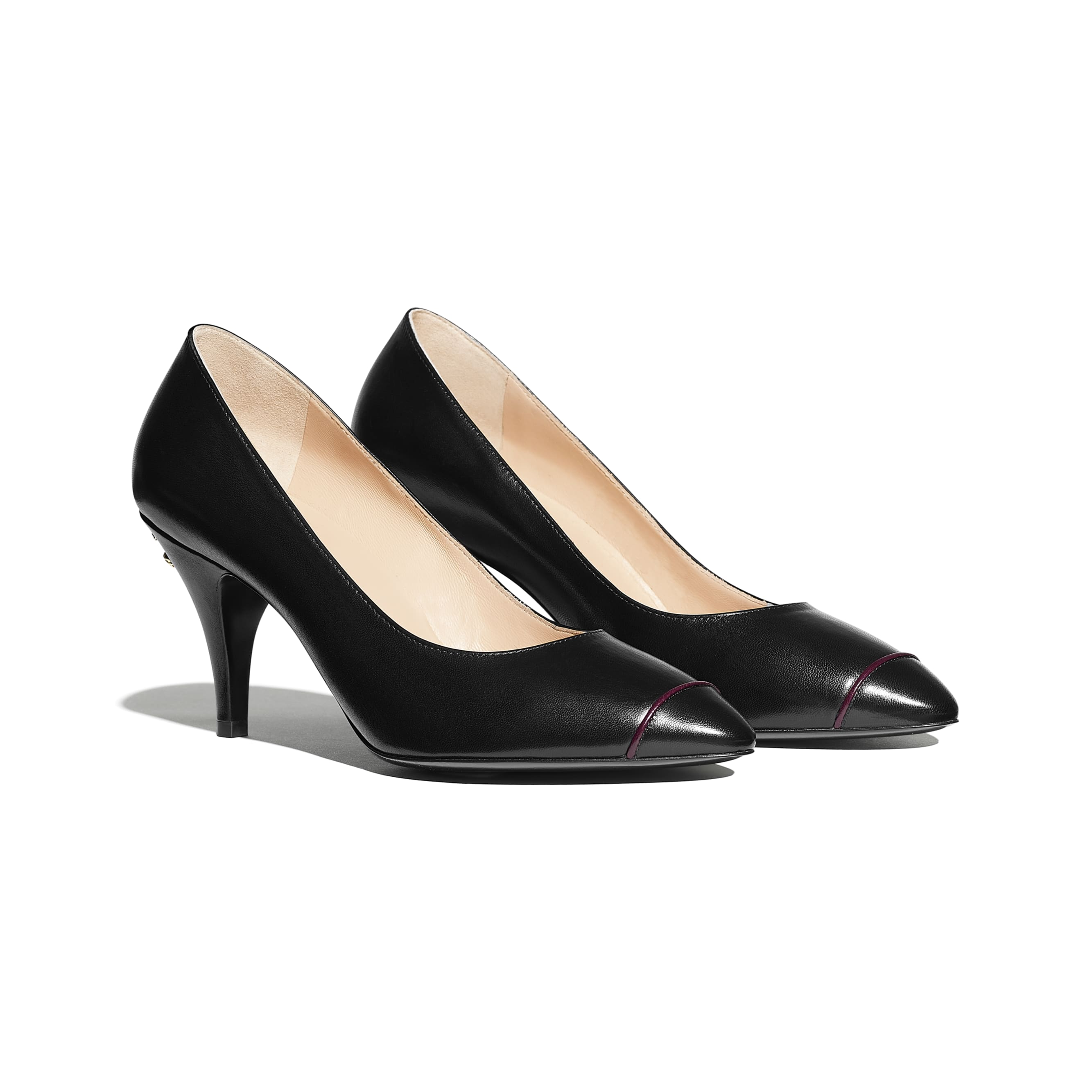 Pumps - Black - Goatskin - CHANEL - Alternative view - see standard sized version