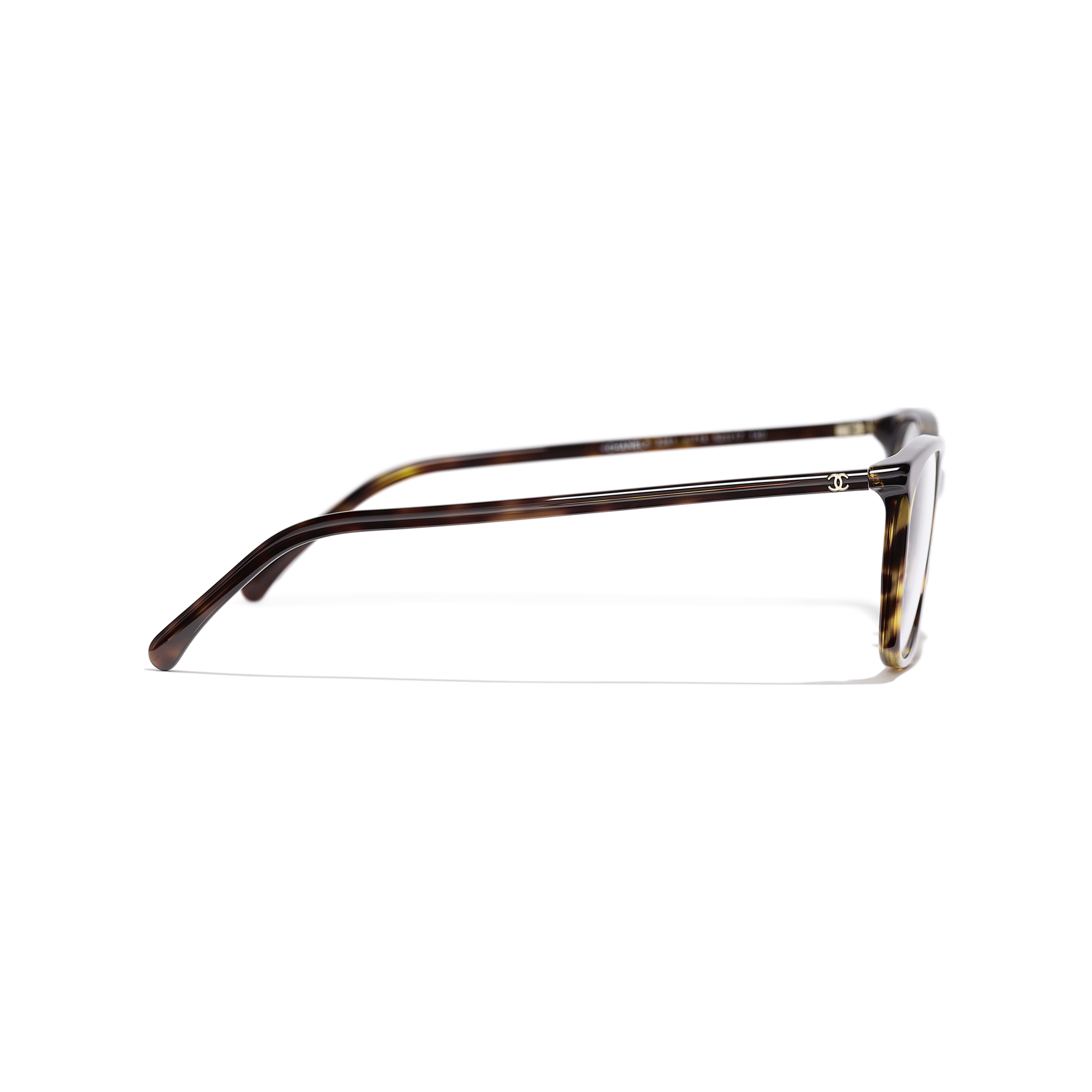 Rectangle Eyeglasses - Dark Tortoise - Acetate - Other view - see standard sized version