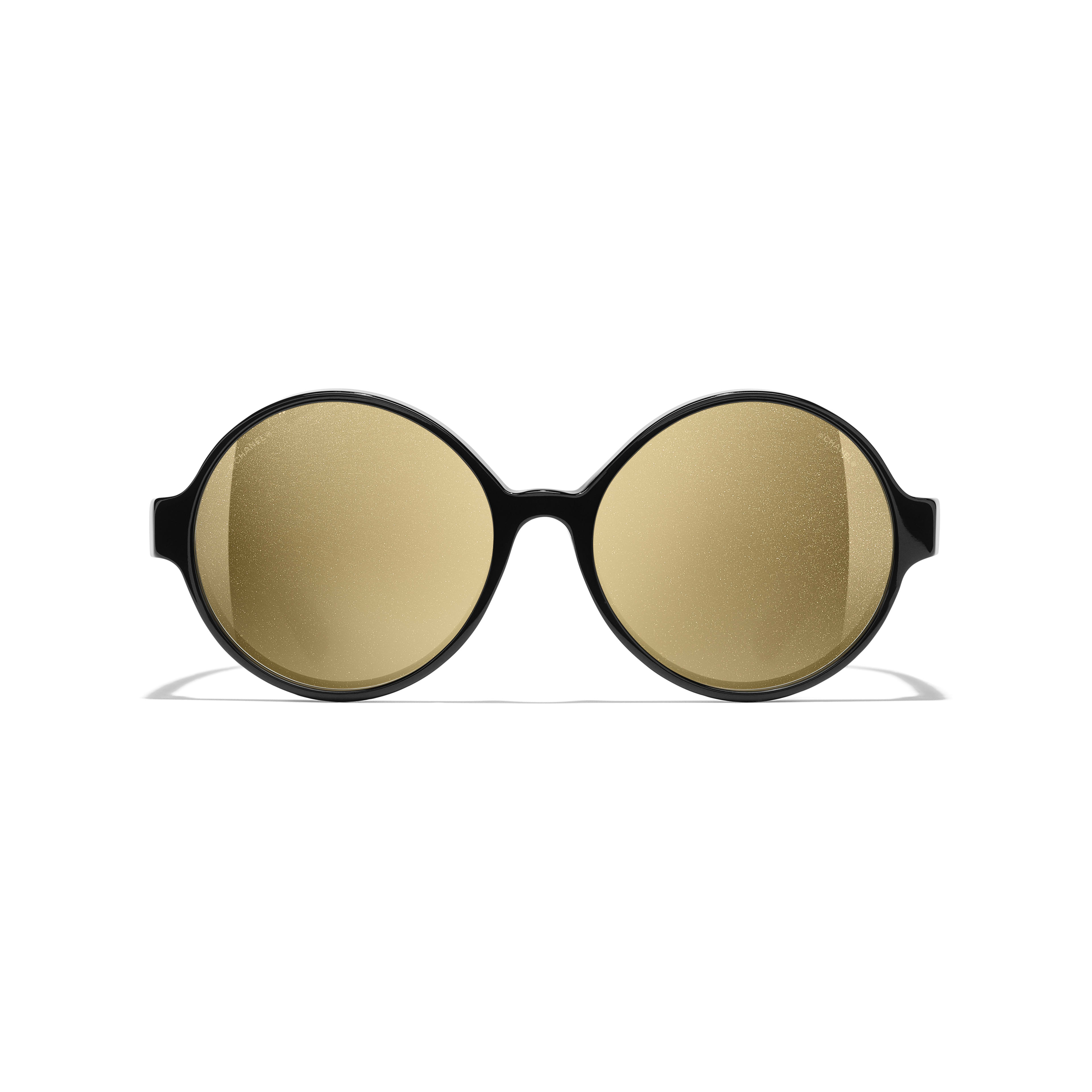 Round Sunglasses - Black - Acetate - Alternative view - see standard sized version