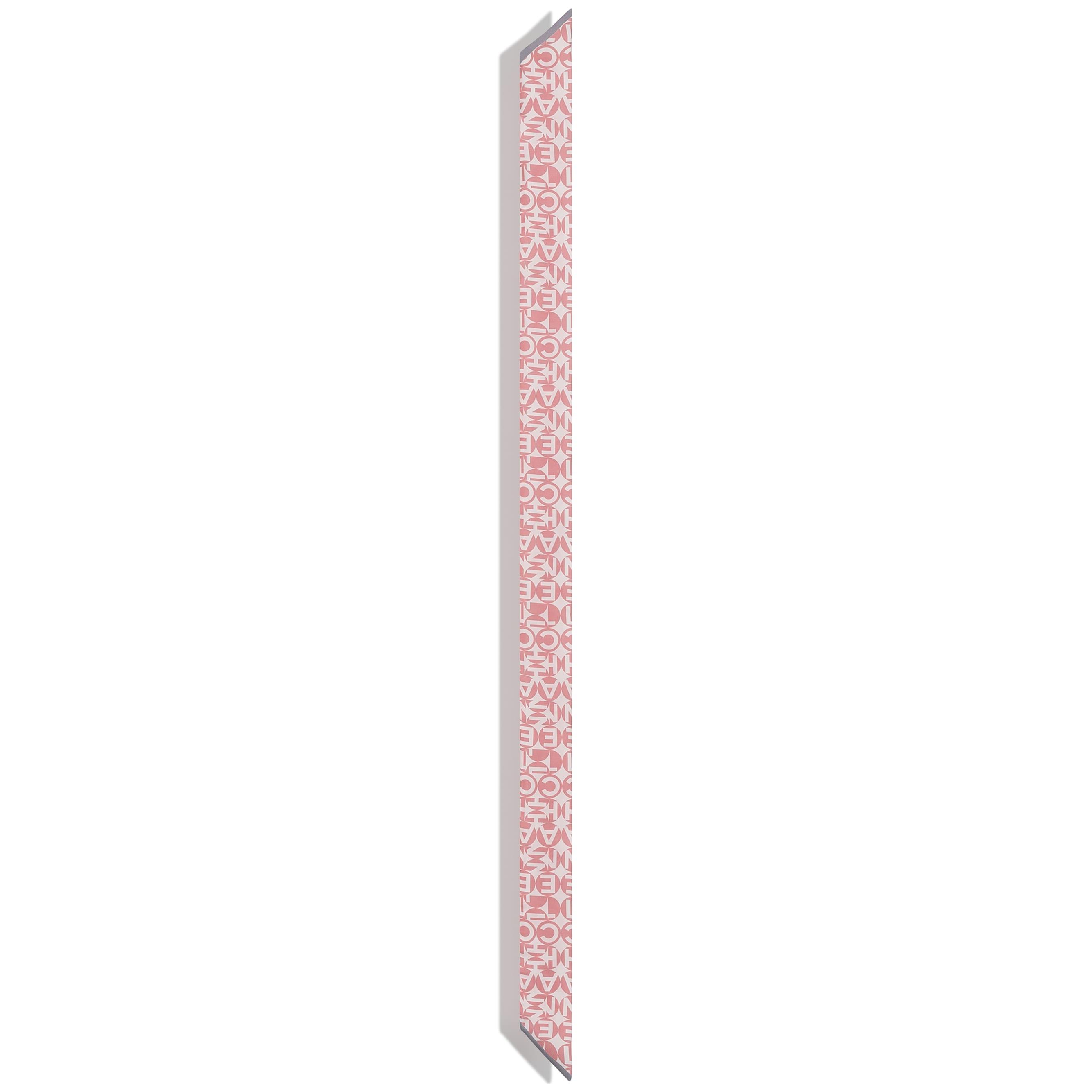 Бандо - Розовый и серый - Шелковый твид - CHANEL - Другое изображение - посмотреть изображение стандартного размера