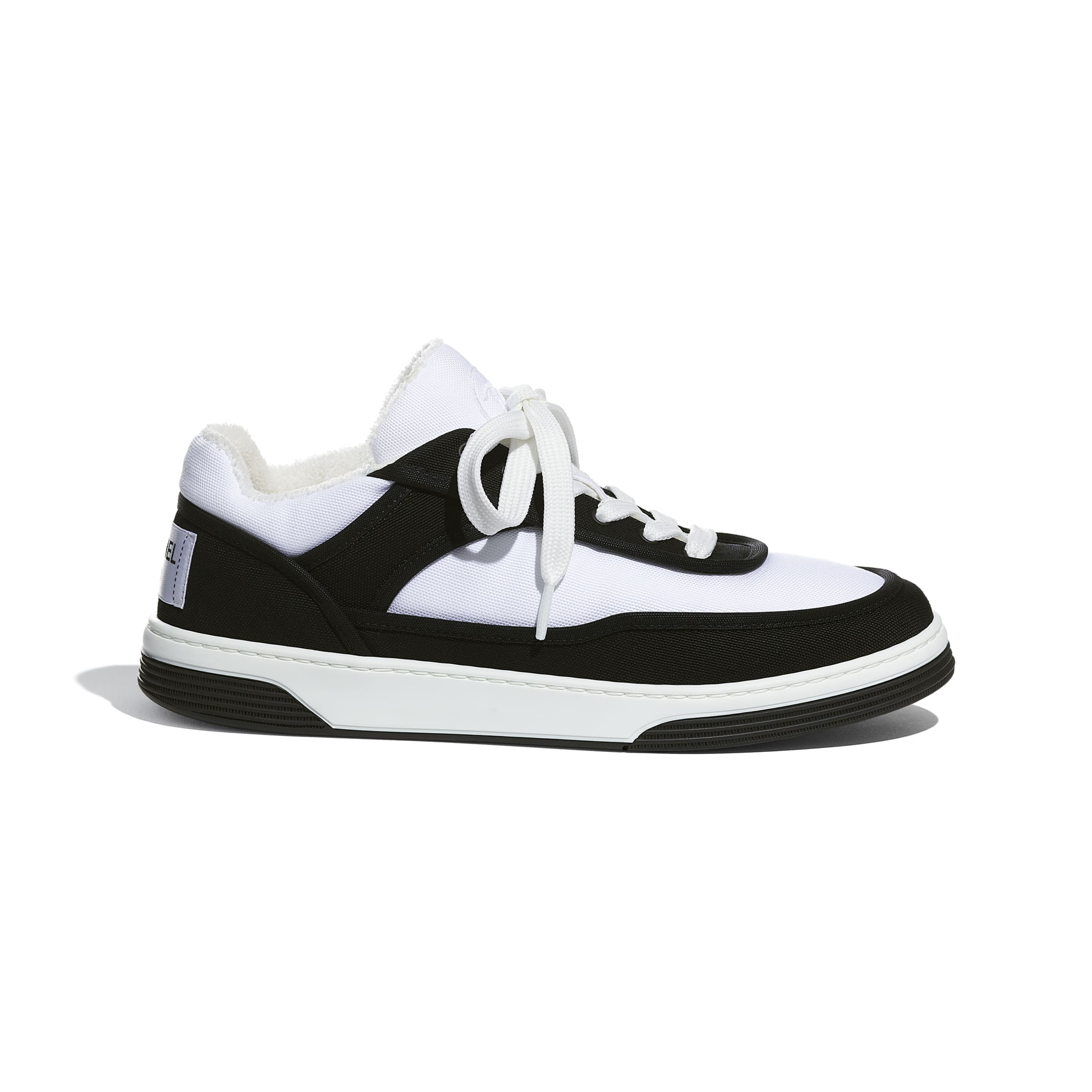 Trainers - Black & White - Fabric - CHANEL - Default view - see standard sized version