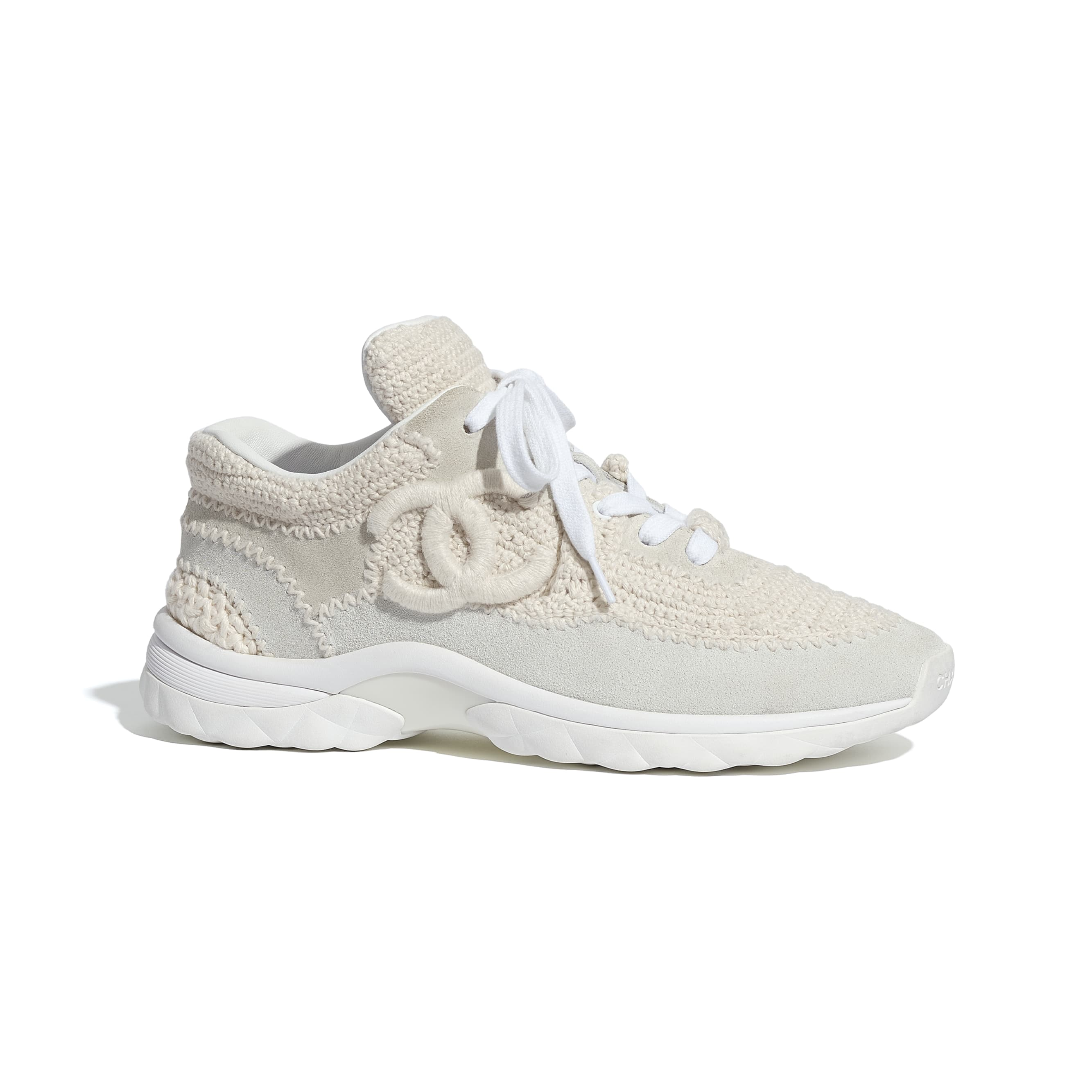 Trainers - Ivory - CHANEL - Default view - see standard sized version
