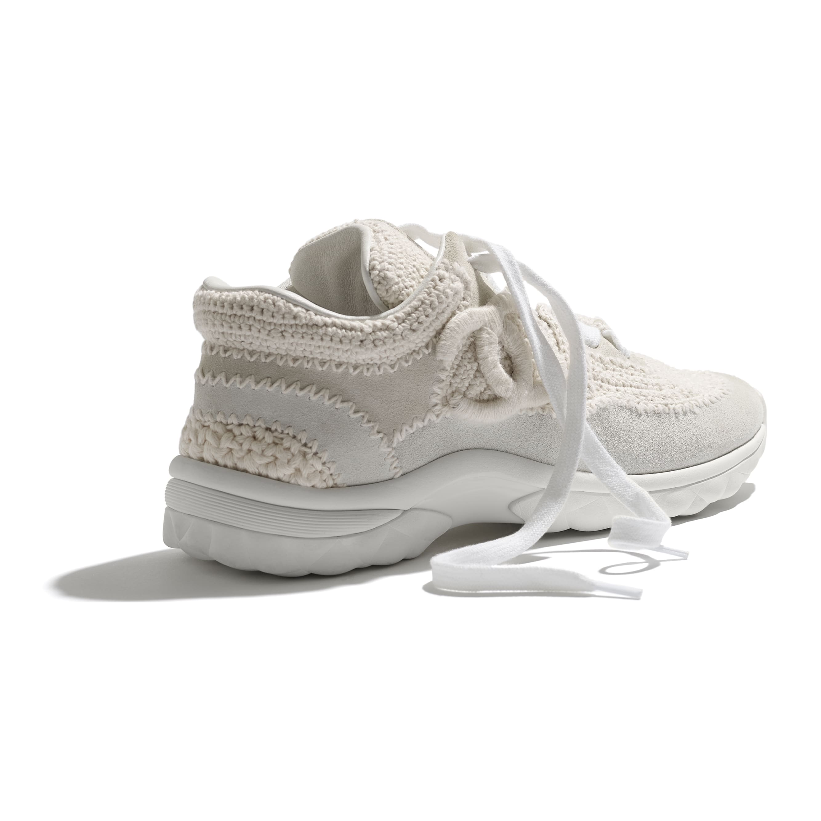 Trainers - Ivory - CHANEL - Extra view - see standard sized version