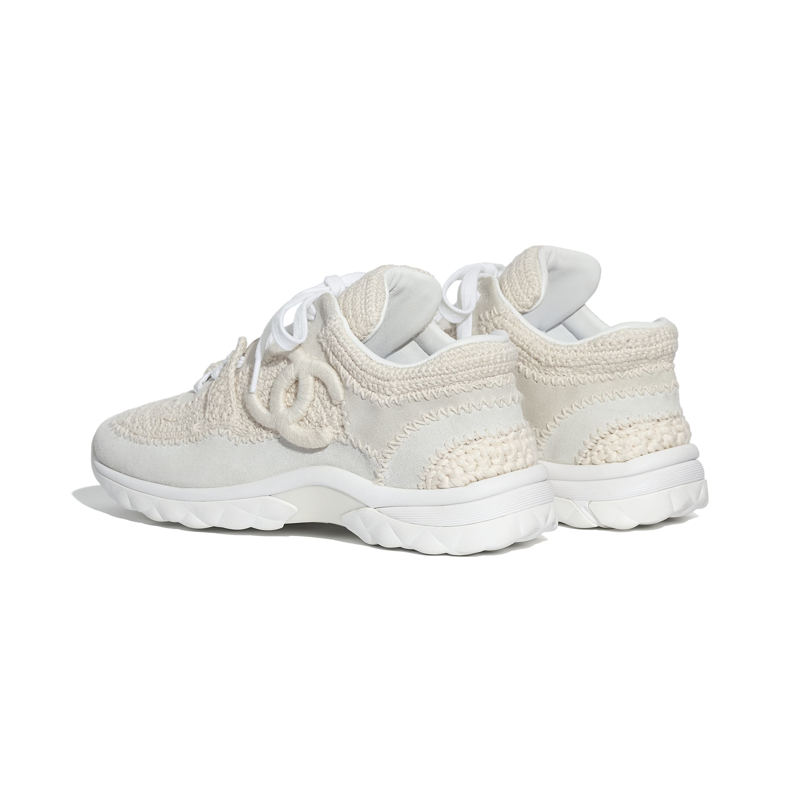 Trainers - Ivory - CHANEL - Other view - see standard sized version