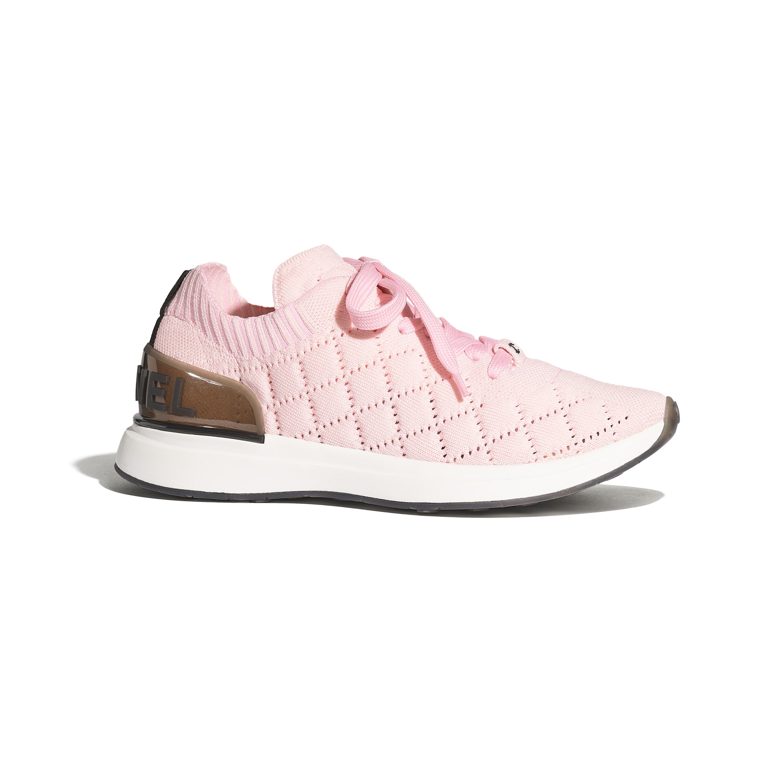 Trainers - Pink - Mixed Fibres - Default view - see standard sized version