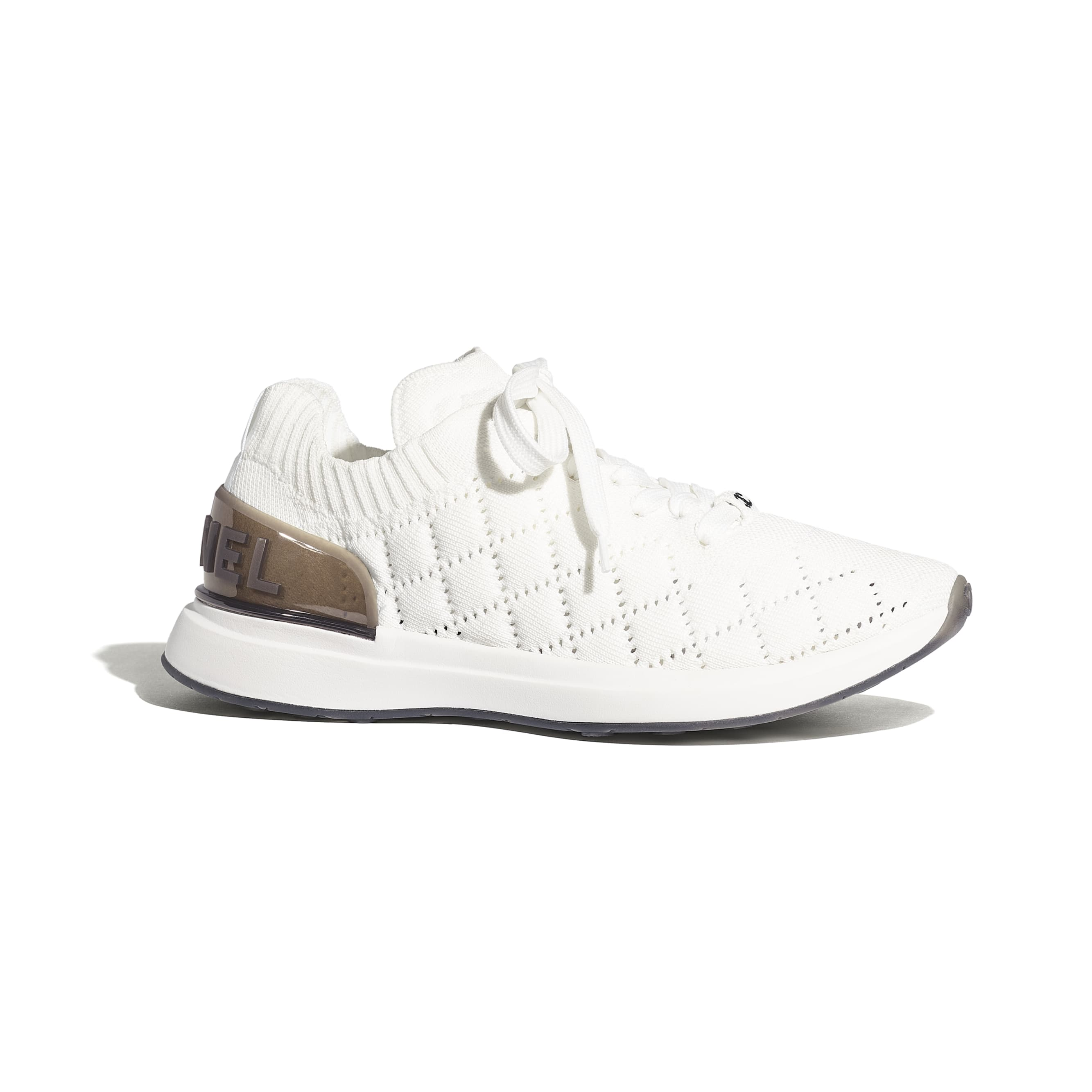Trainers - White - Mixed Fibres - Default view - see standard sized version