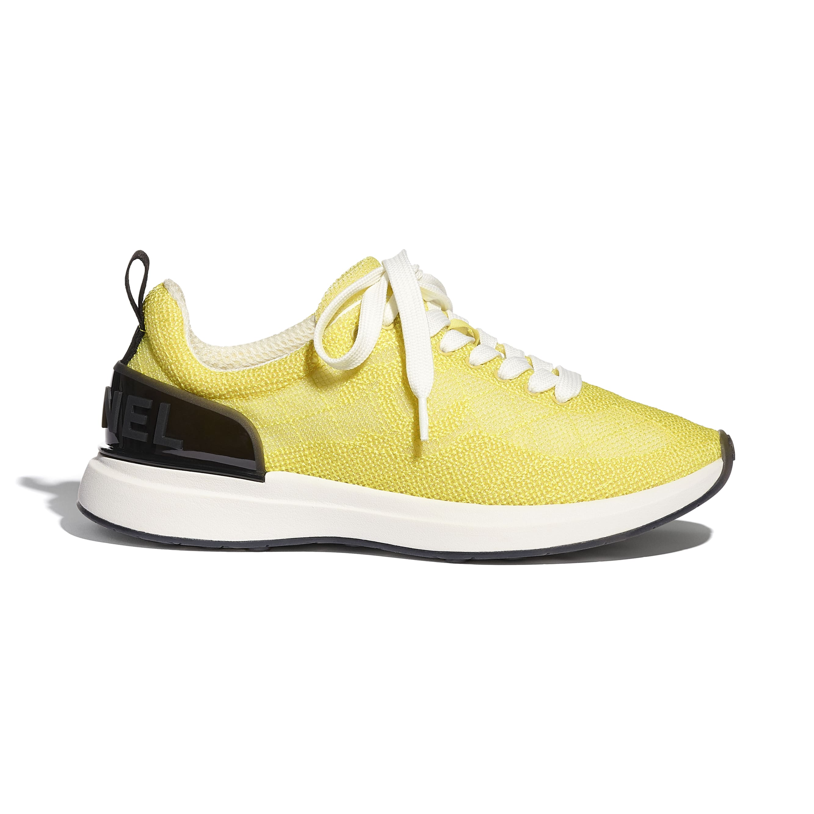Trainers - Yellow - Embroidered Mesh - CHANEL - Default view - see standard sized version