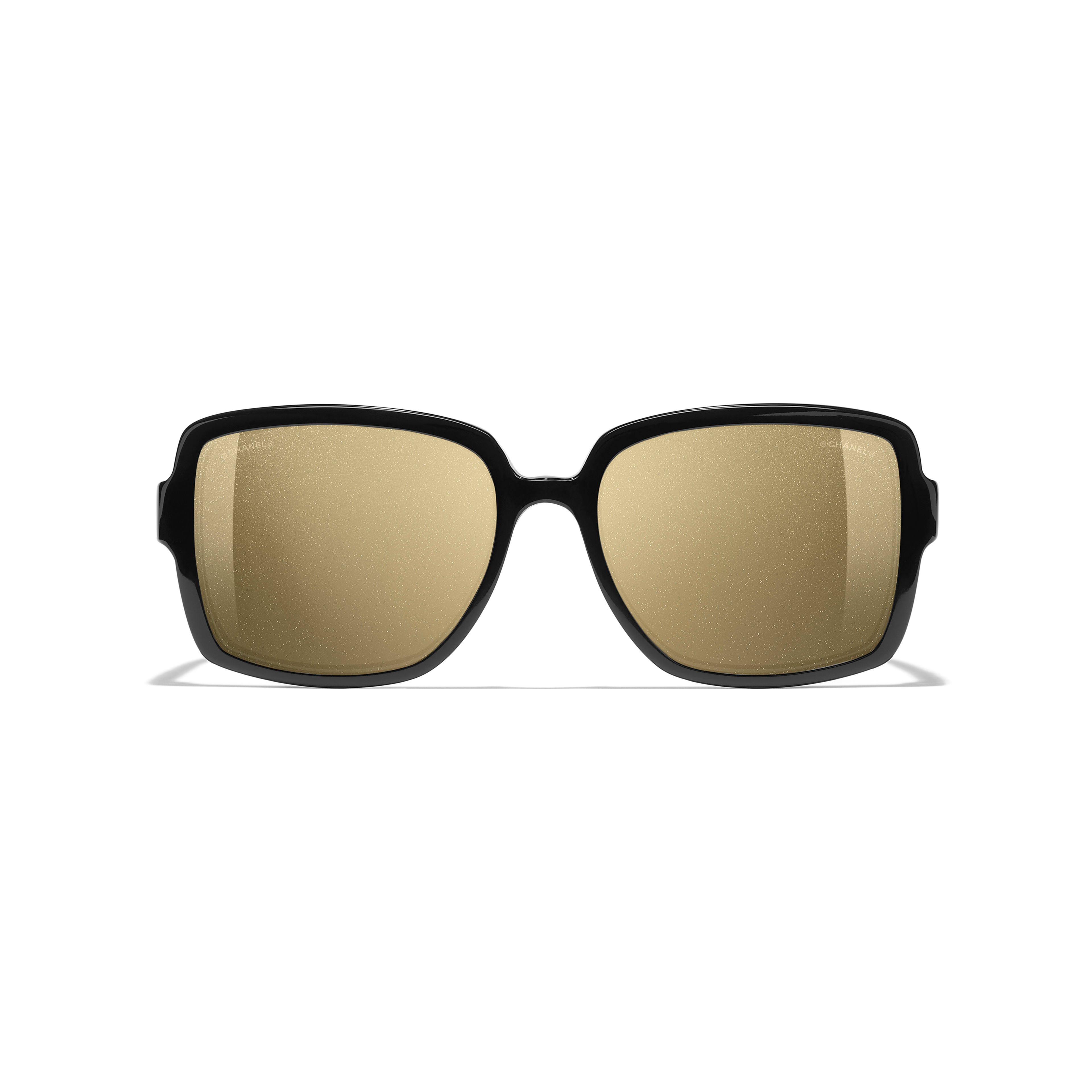 Square Sunglasses - Black - Acetate - Alternative view - see standard sized version