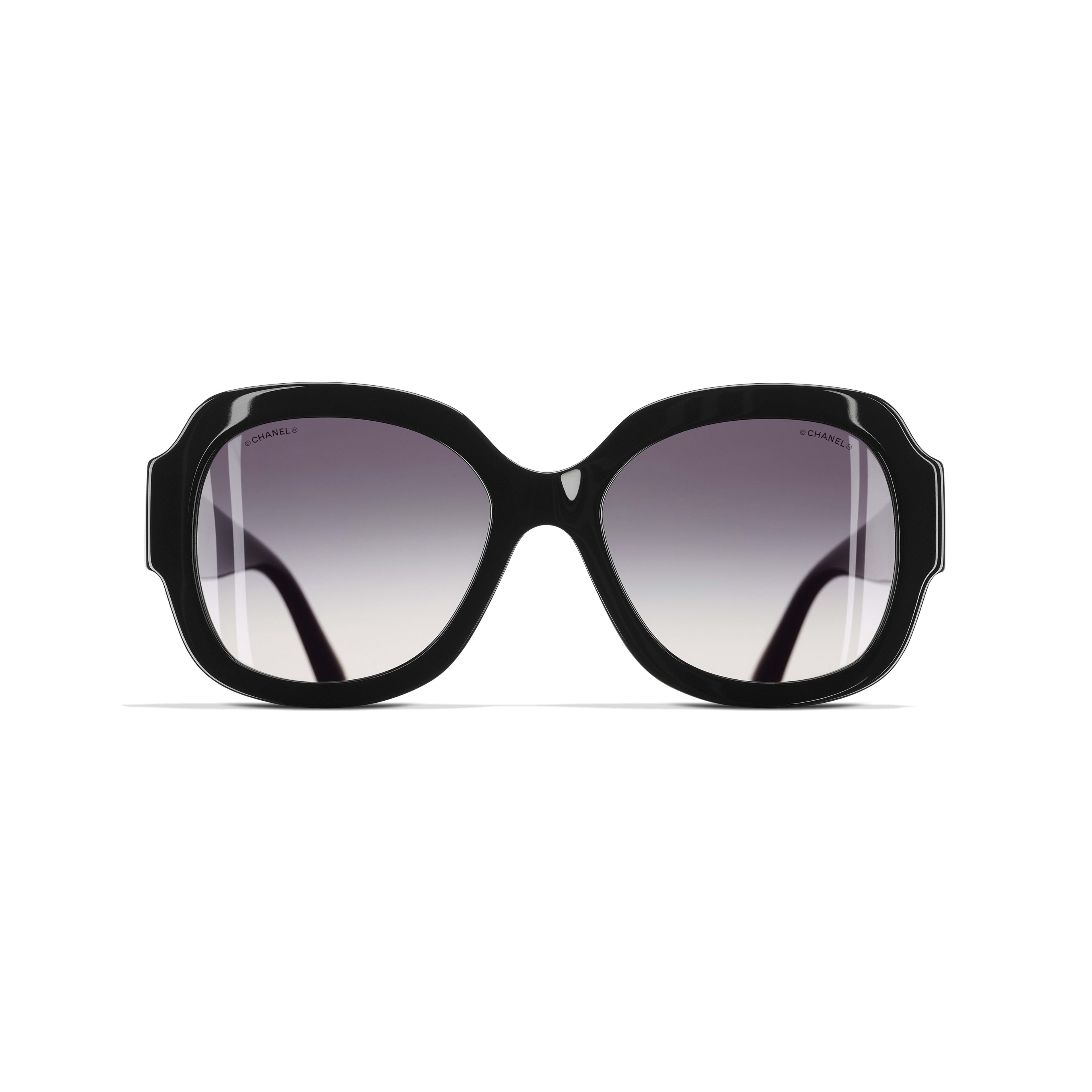 Square Sunglasses - Black - Acetate - Alternative view - see standard sized version