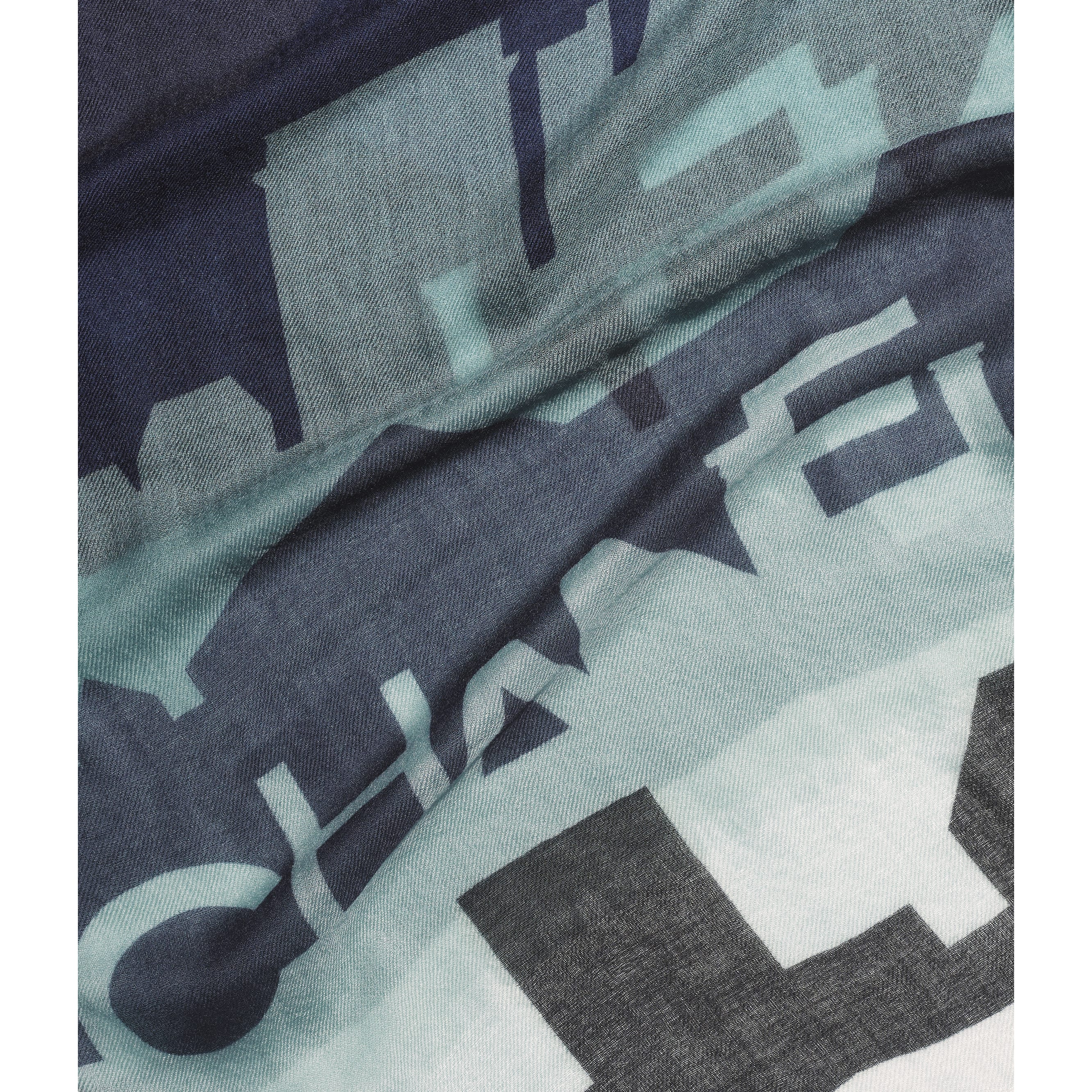 Stole - Beige, Grey & Black - Cashmere - CHANEL - Default view - see standard sized version