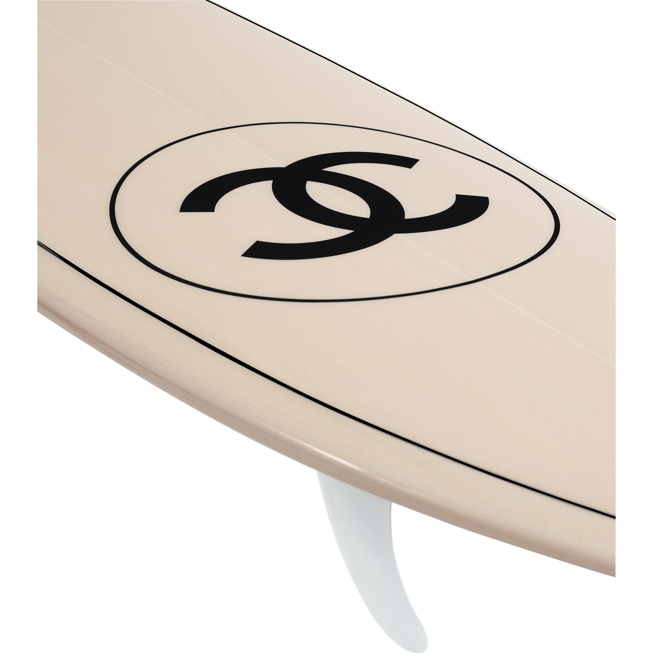 Surfboard - Pale Pink - Polyurethane, Glass Fiber & Resin - CHANEL - Alternative view - see standard sized version