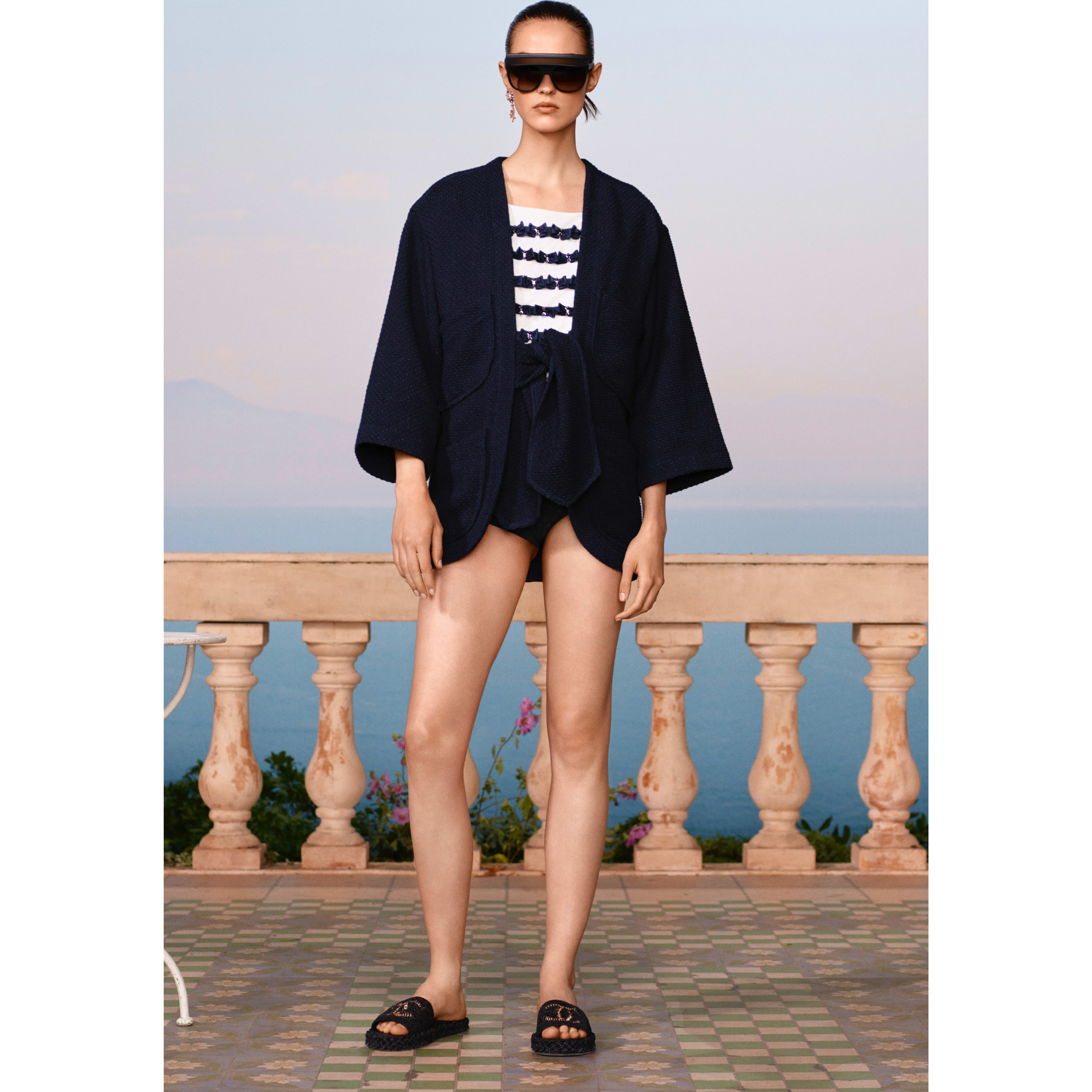 Swimsuit Bottom - Black - Mixed Fibres - CHANEL - Default view - see standard sized version