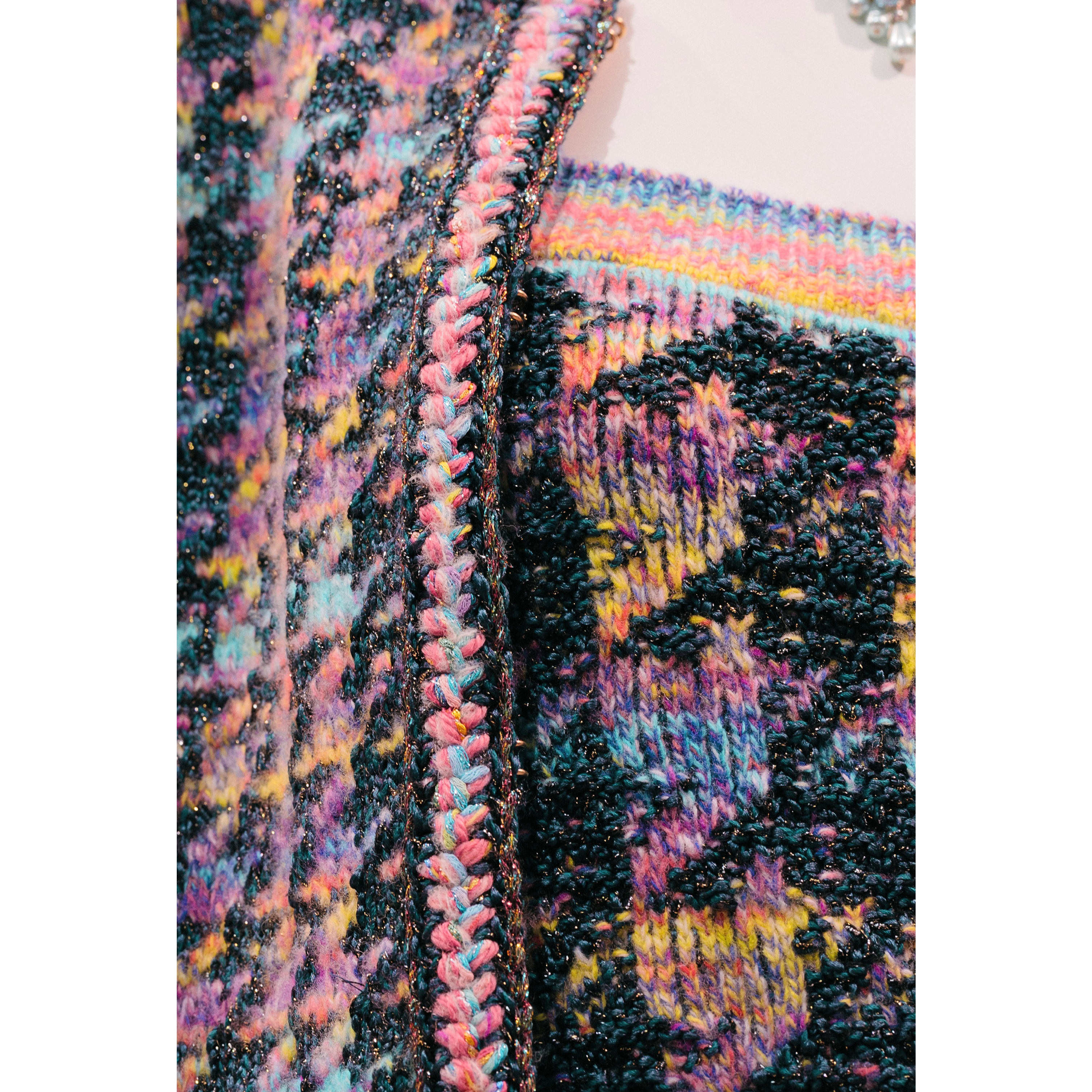 Top - Multicolour - Wool, Silk & Cotton - CHANEL - Other view - see standard sized version