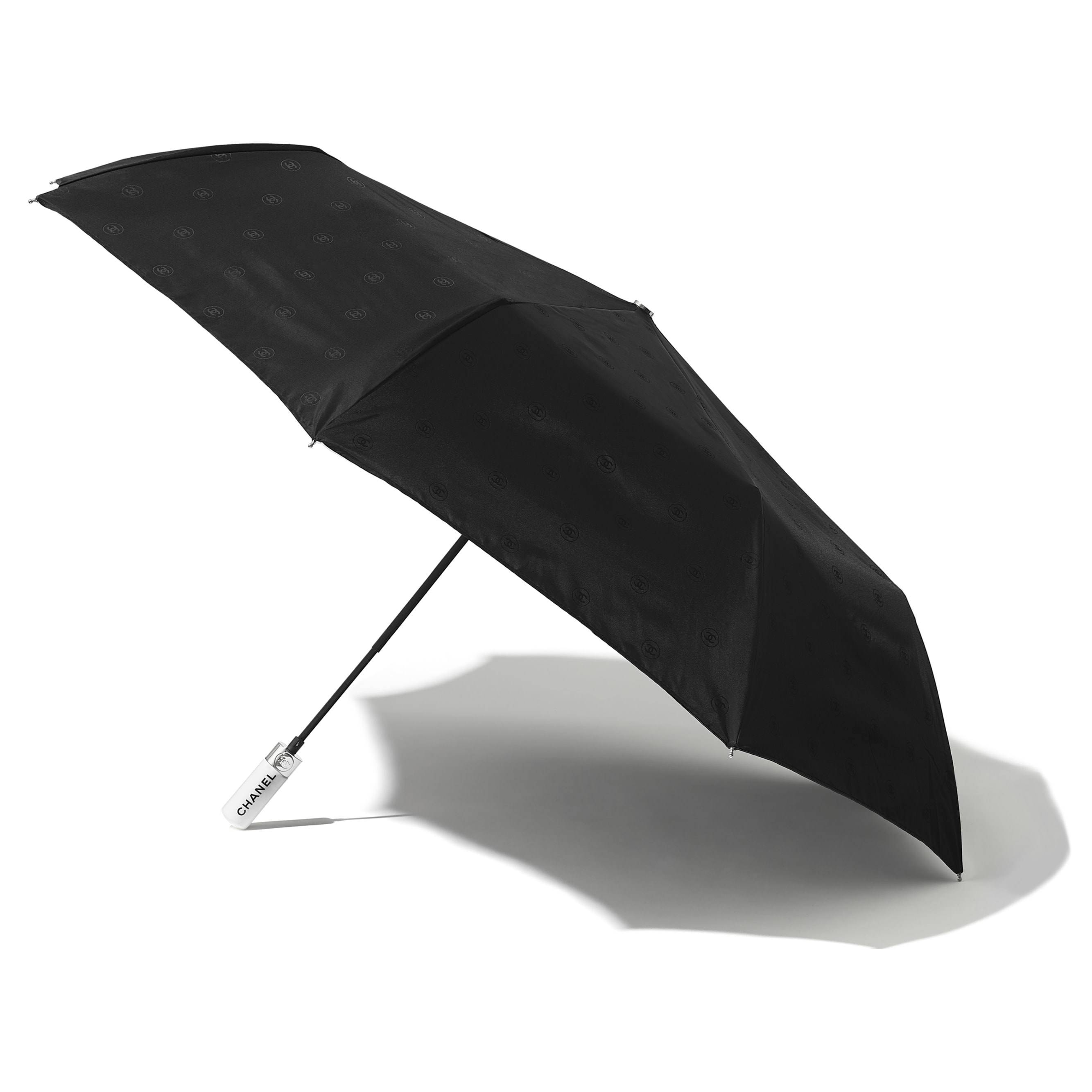 Umbrella - Black - Synthetic Fibres - CHANEL - Alternative view - see standard sized version
