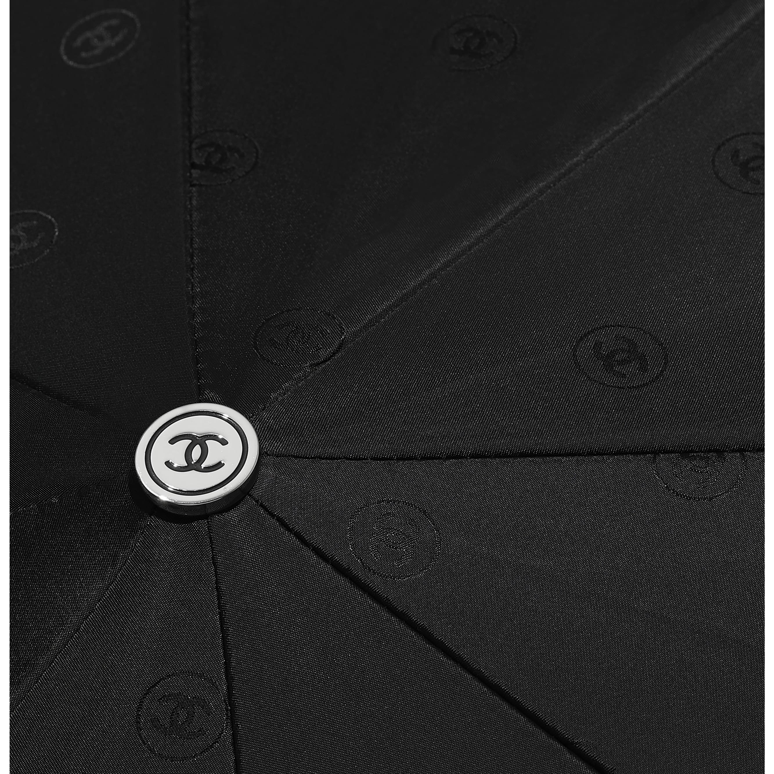 Umbrella - Black - Synthetic Fibres - Other view - see standard sized version