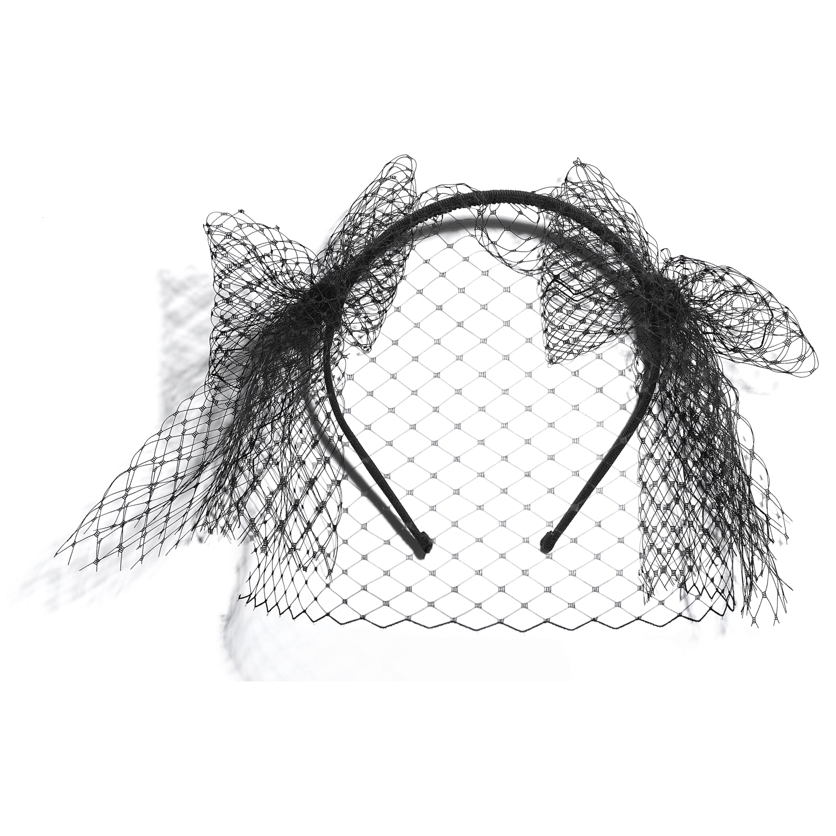 Veil - Black - Mesh & Grosgrain - CHANEL - Default view - see standard sized version