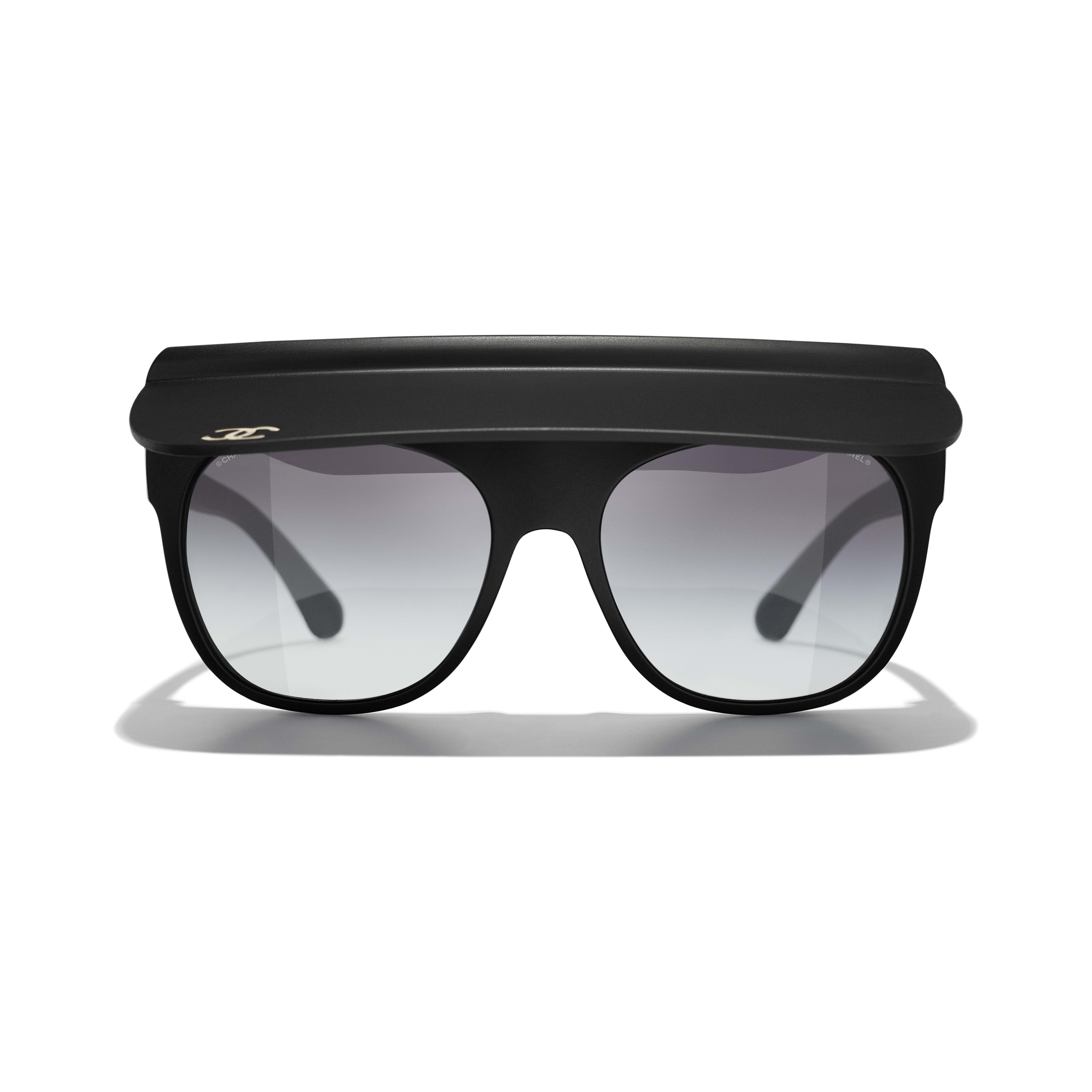 Visor Sunglasses - Zwart - Nylon - CHANEL - Alternatieve weergave - zie versie op standaardgrootte