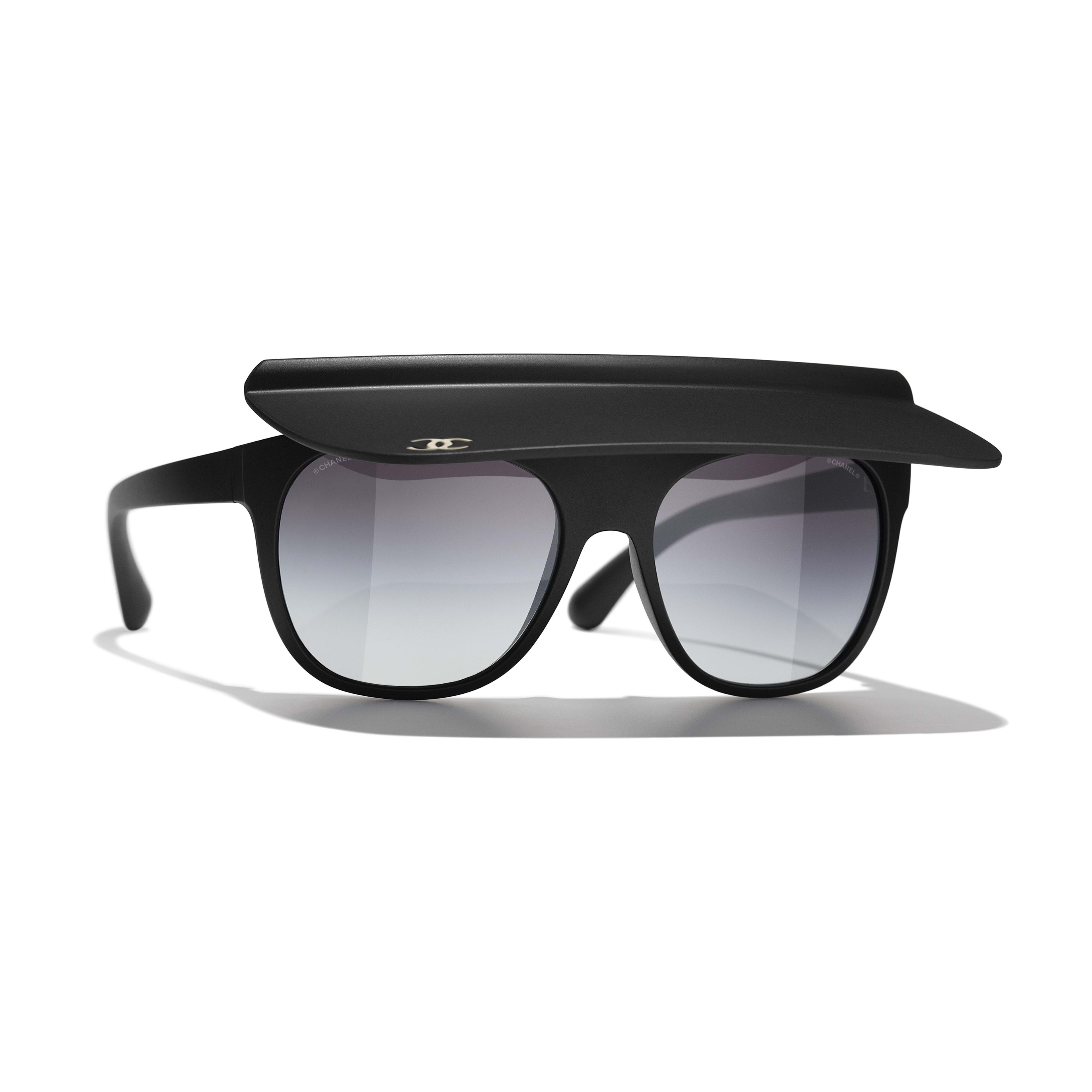 Lunettes visière - Noir - Nylon - CHANEL - Vue par défaut - voir la version taille standard