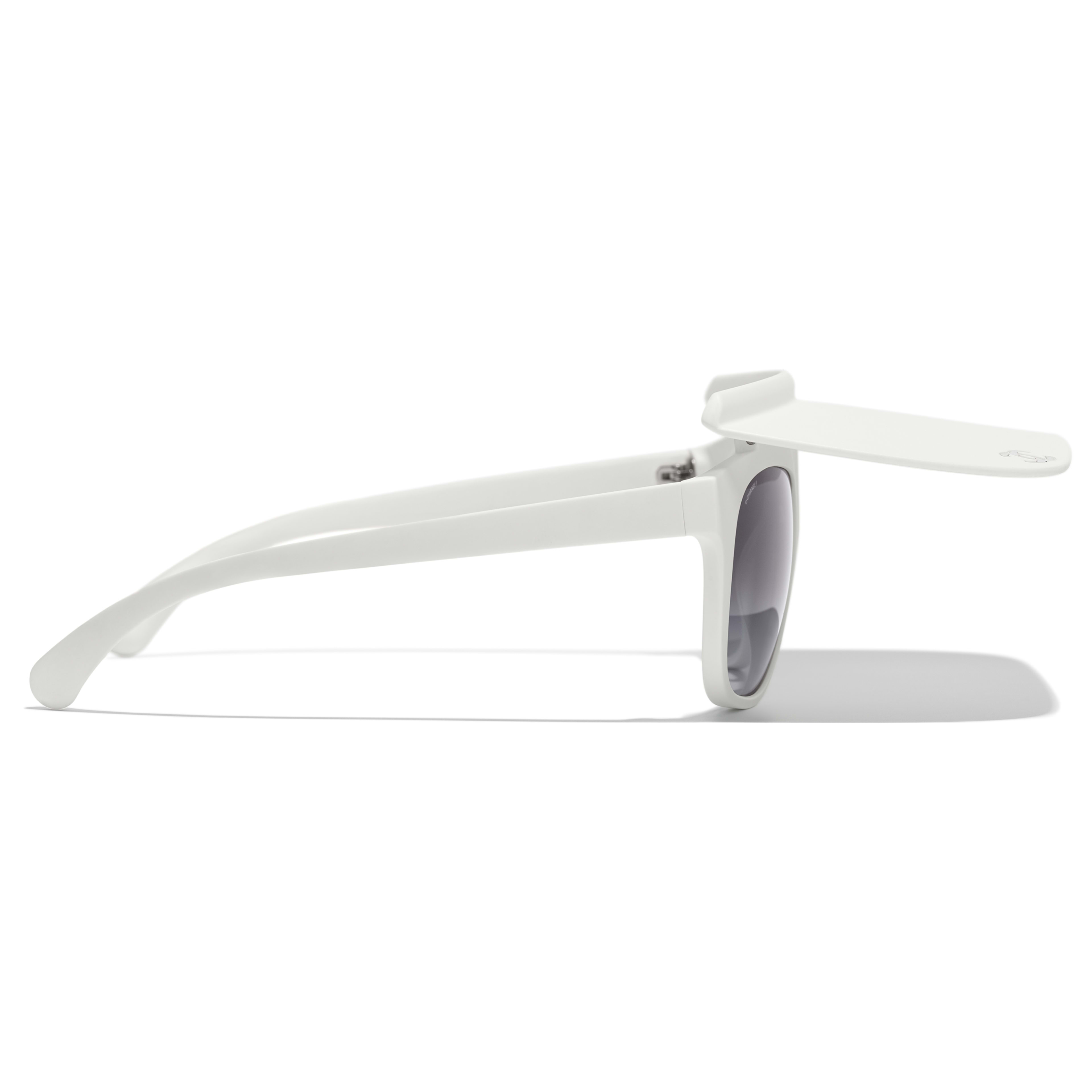 Visor Sunglasses - White - Nylon Fibre - CHANEL - Other view - see standard sized version