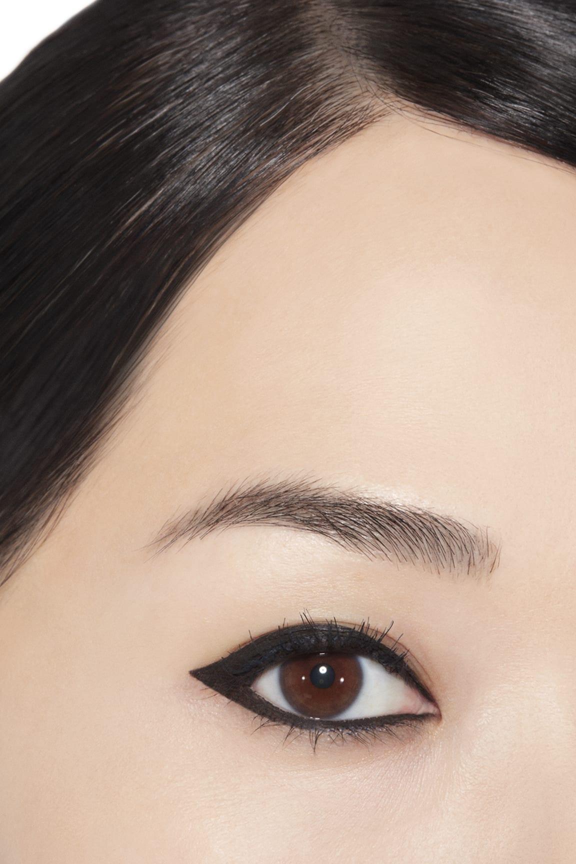 Application makeup visual 1 - CALLIGRAPHIE DE CHANEL 65 - HYPERBLACK