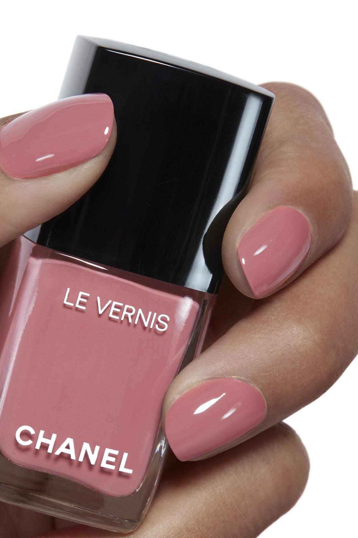 Application makeup visual 1 - LE VERNIS 491 - ROSE CONFIDENTIEL