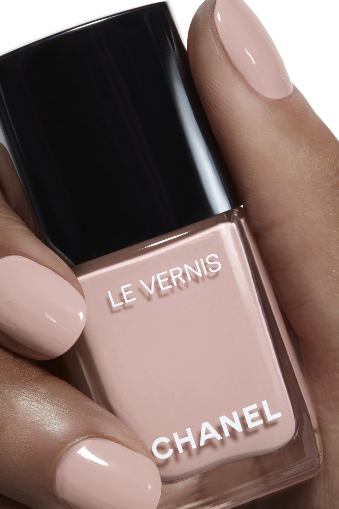 Application makeup visual 1 - LE VERNIS 504 - ORGANDI