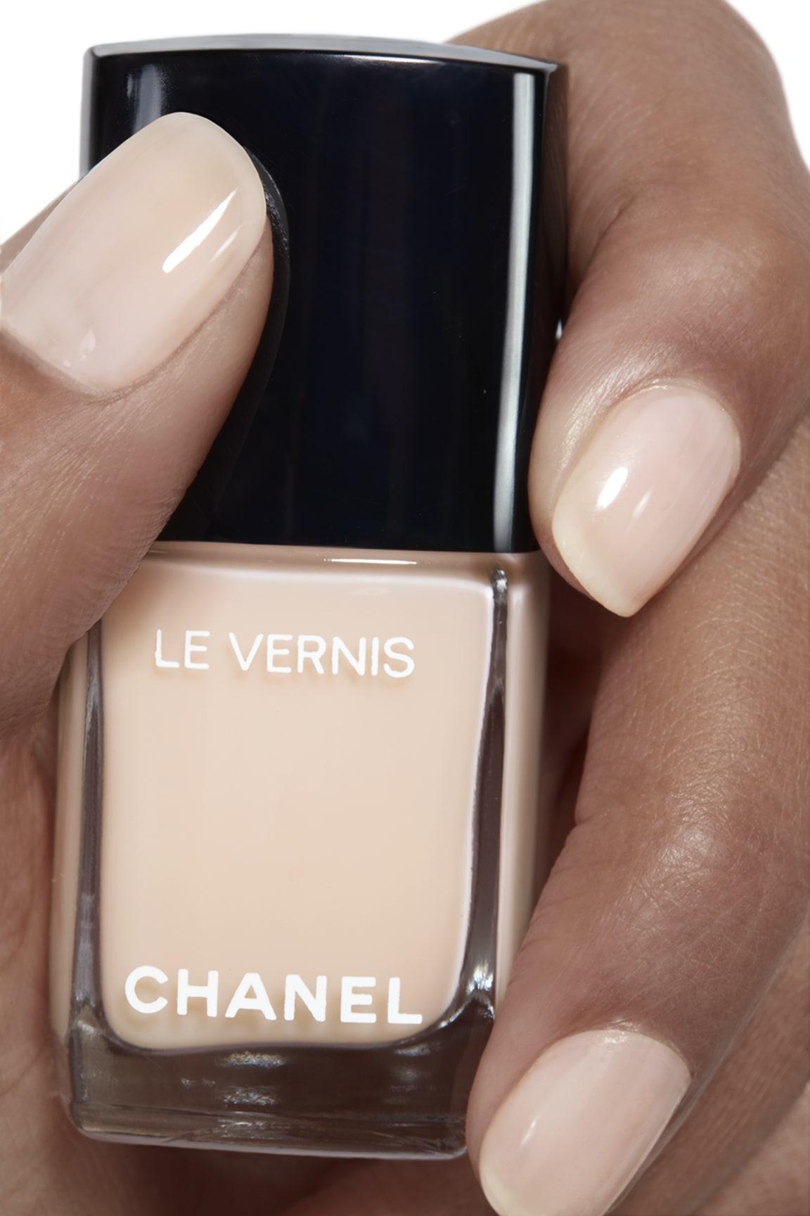 Application makeup visual 1 - LE VERNIS 548 - BLANC WHITE