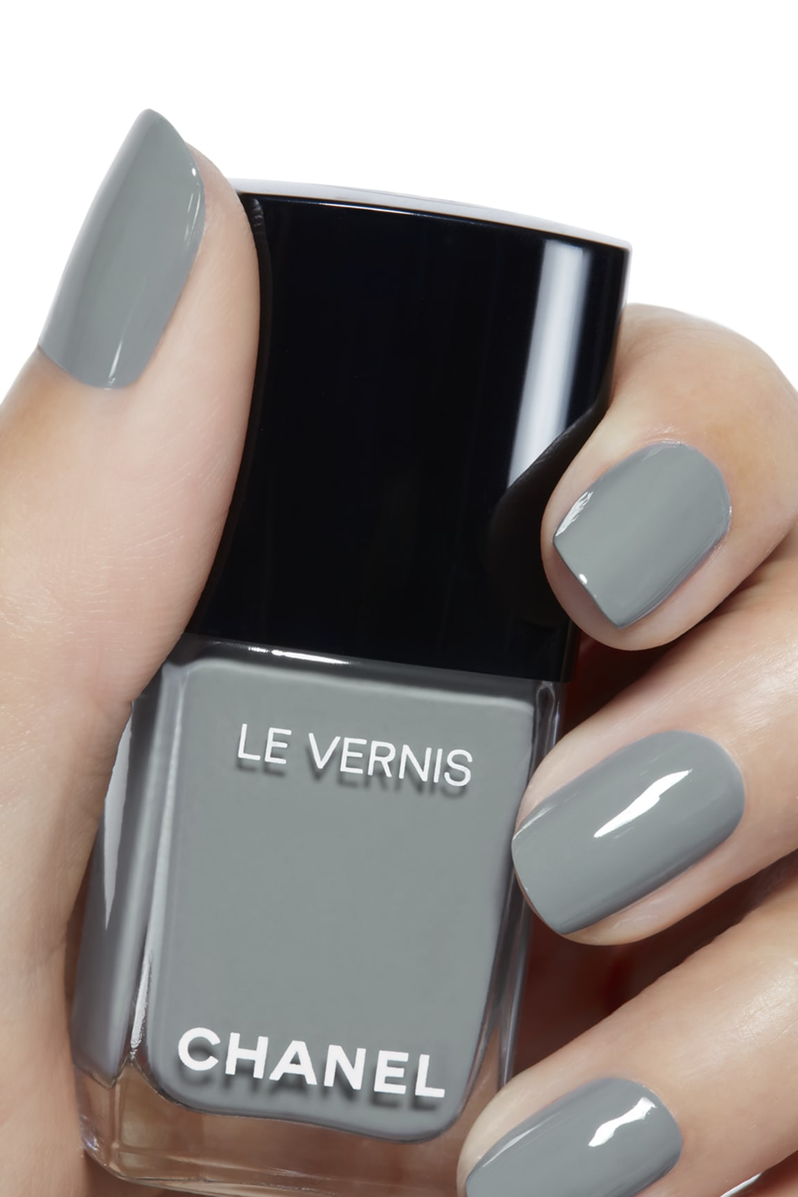 Application makeup visual 2 - LE VERNIS 566 - WASHED DENIM