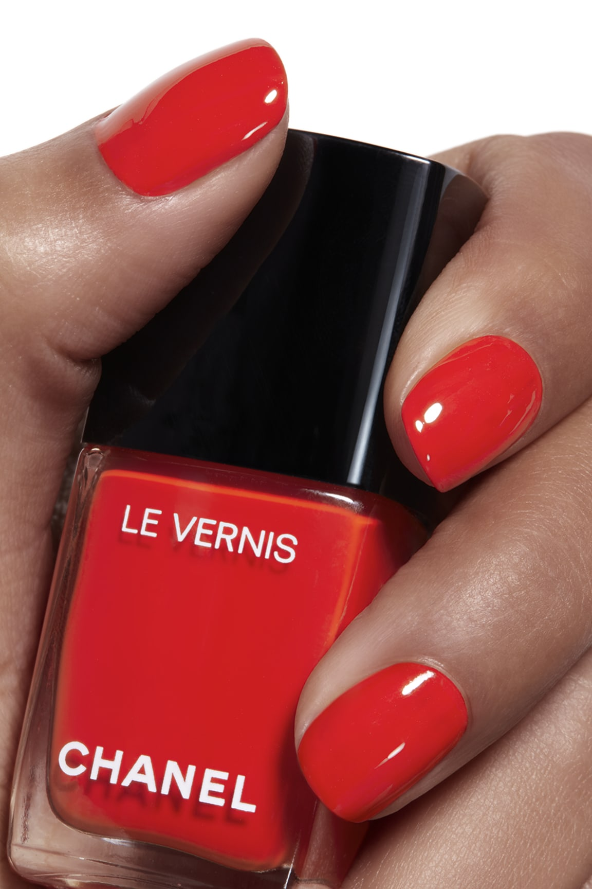 Application makeup visual 1 - LE VERNIS 634 - ARANCIO VIBRANTE