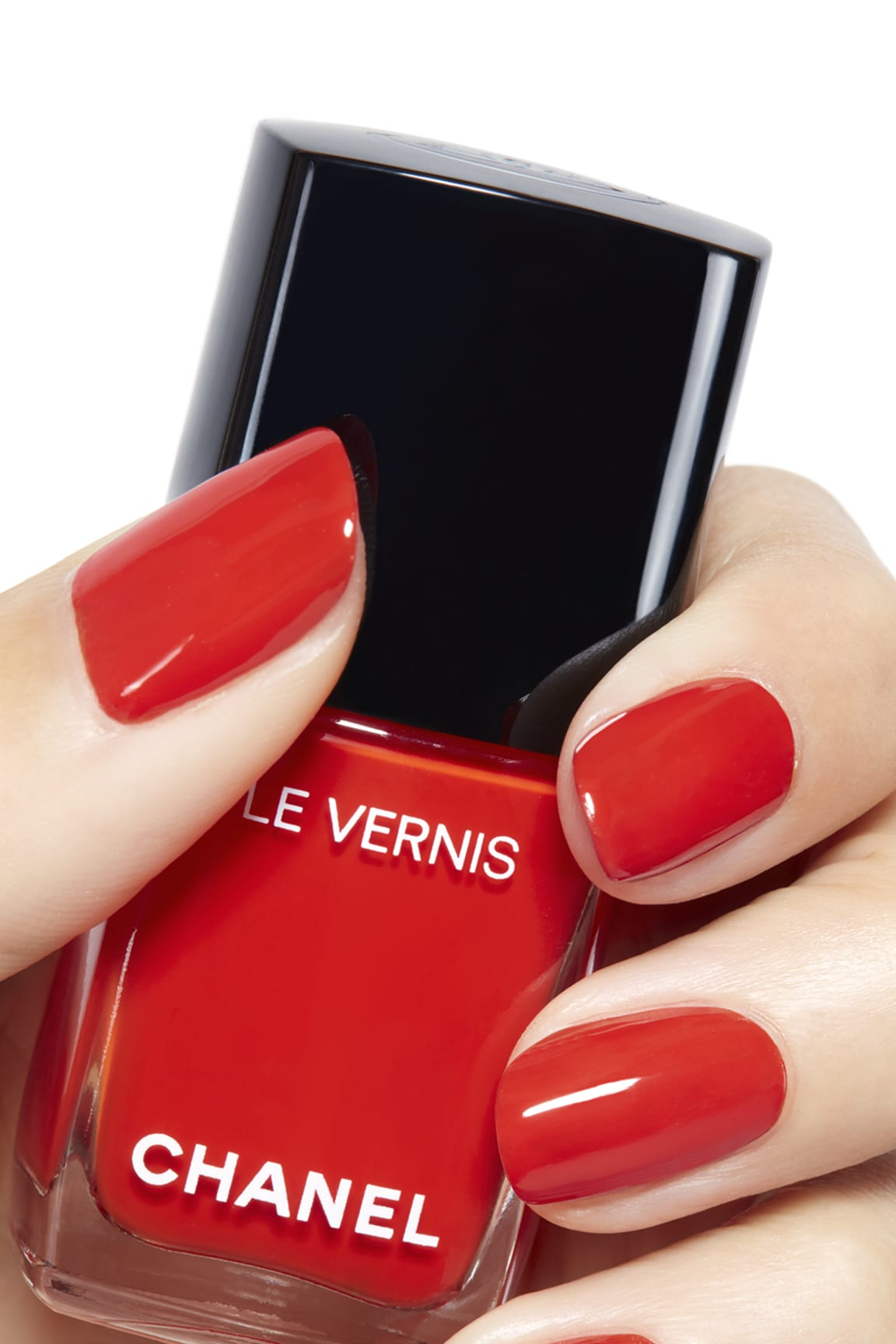 Application makeup visual 2 - LE VERNIS 634 - ARANCIO VIBRANTE