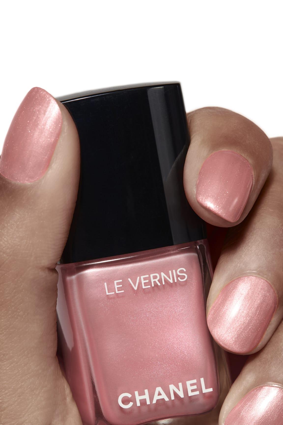 Application makeup visual 1 - LE VERNIS 741 - FLEUR DE PÊCHER