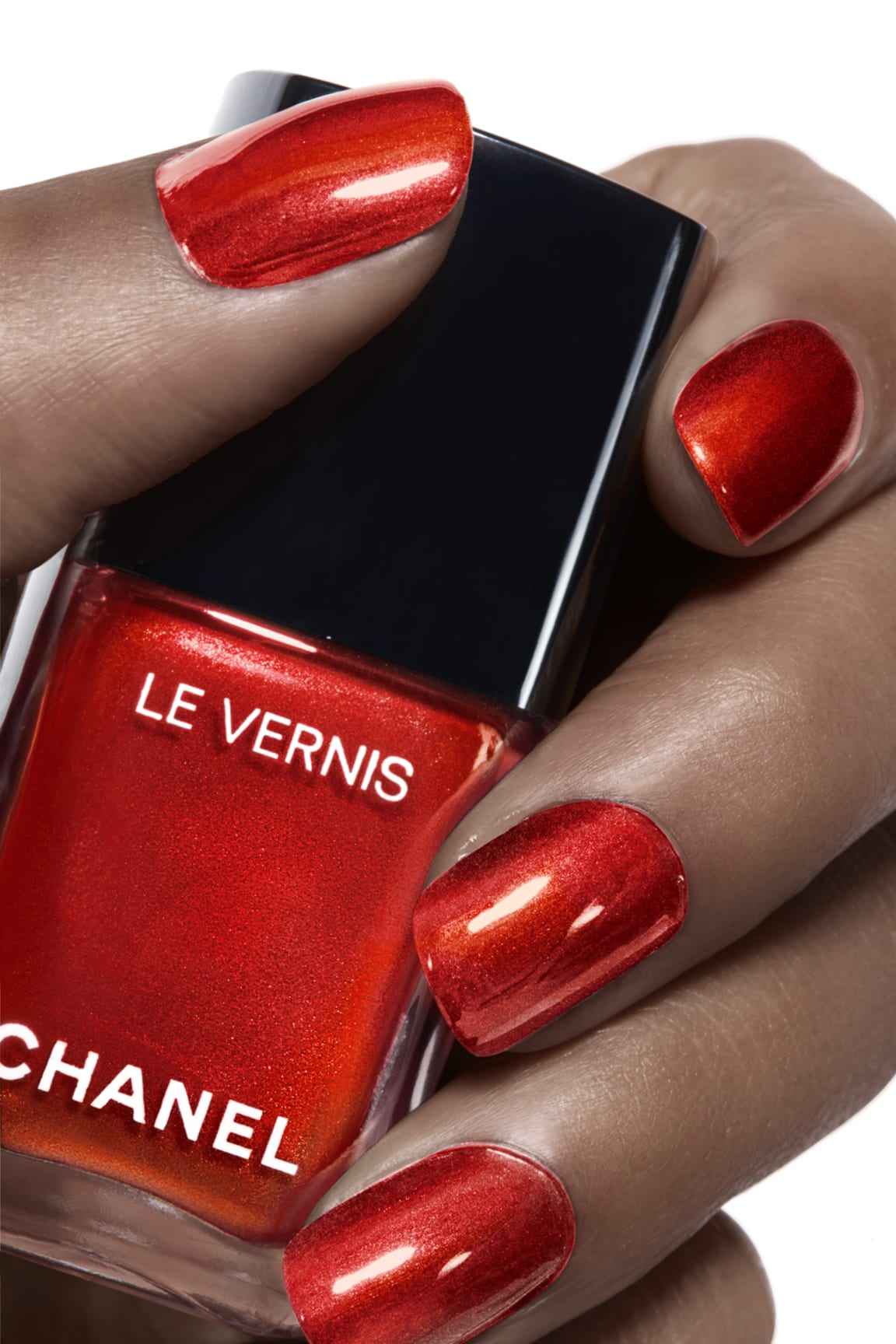 Application makeup visual 1 - LE VERNIS 887 - METALLIC BLOOM