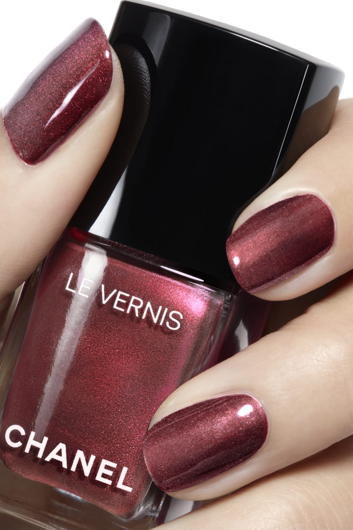 Application makeup visual 2 - LE VERNIS 891 - PERLE BURGUNDY