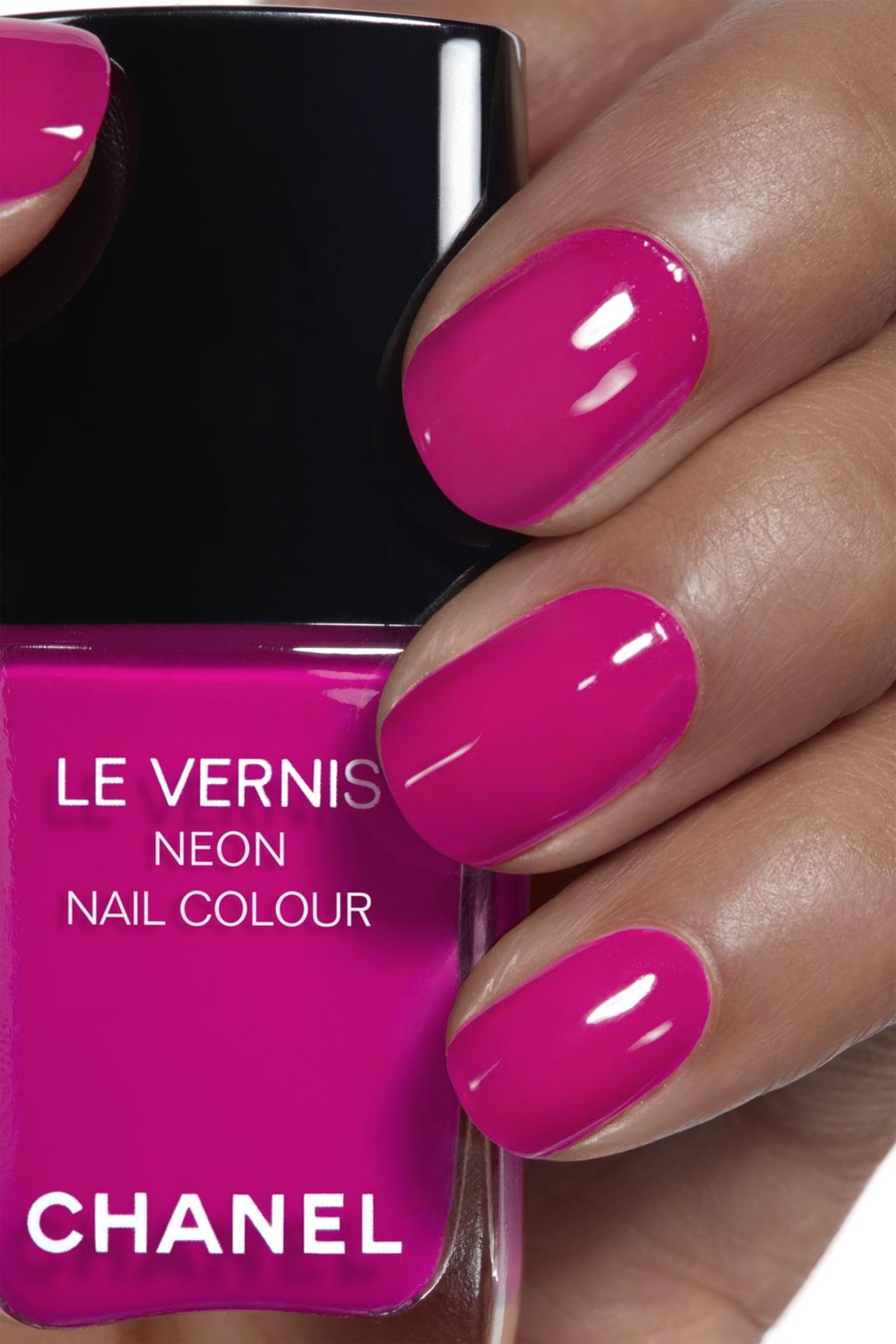 Application makeup visual 1 - LE VERNIS NEON NAIL COLOUR 648 - TECHNO BLOOM